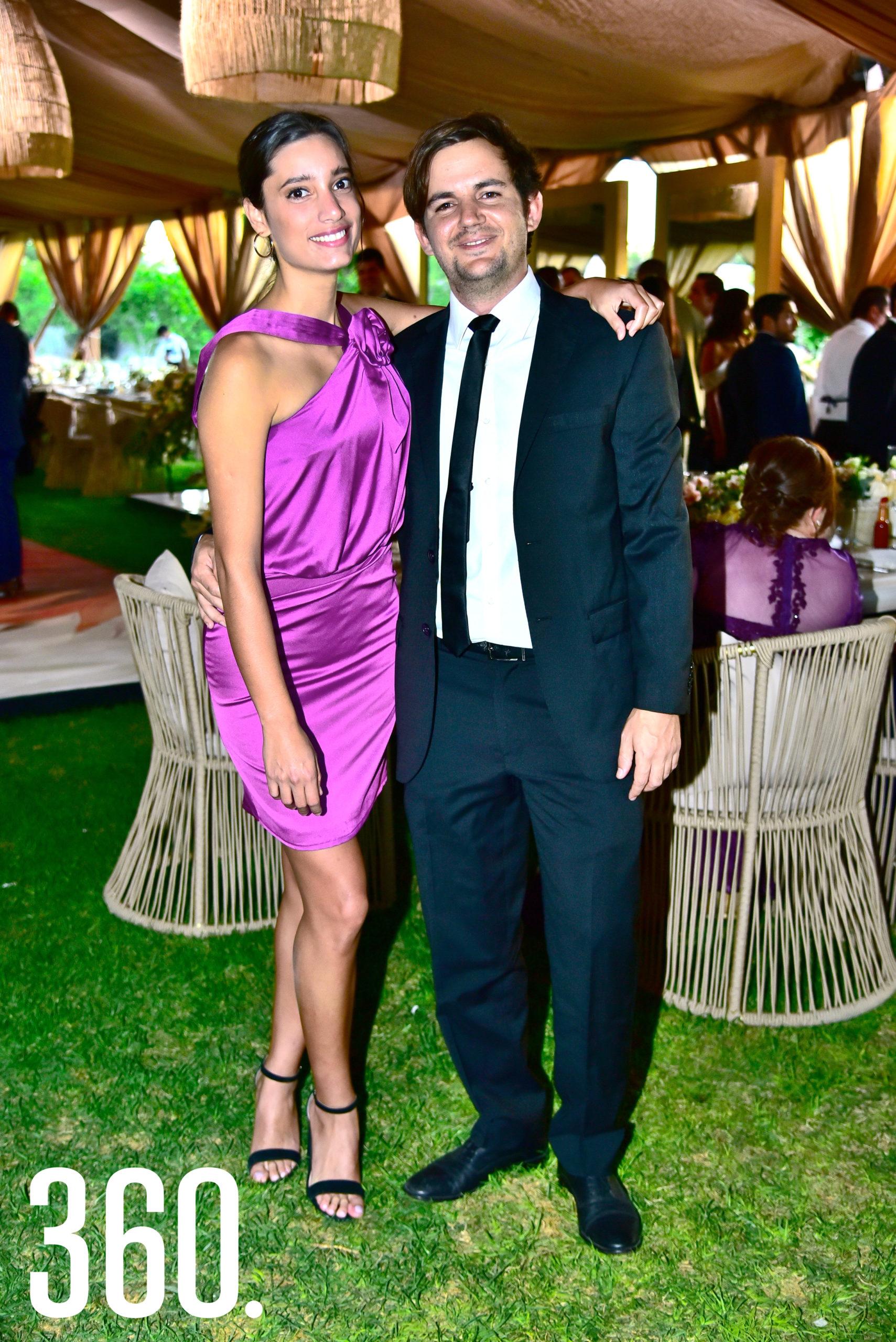 Fernanda Acosta y Esteban Arizpe.