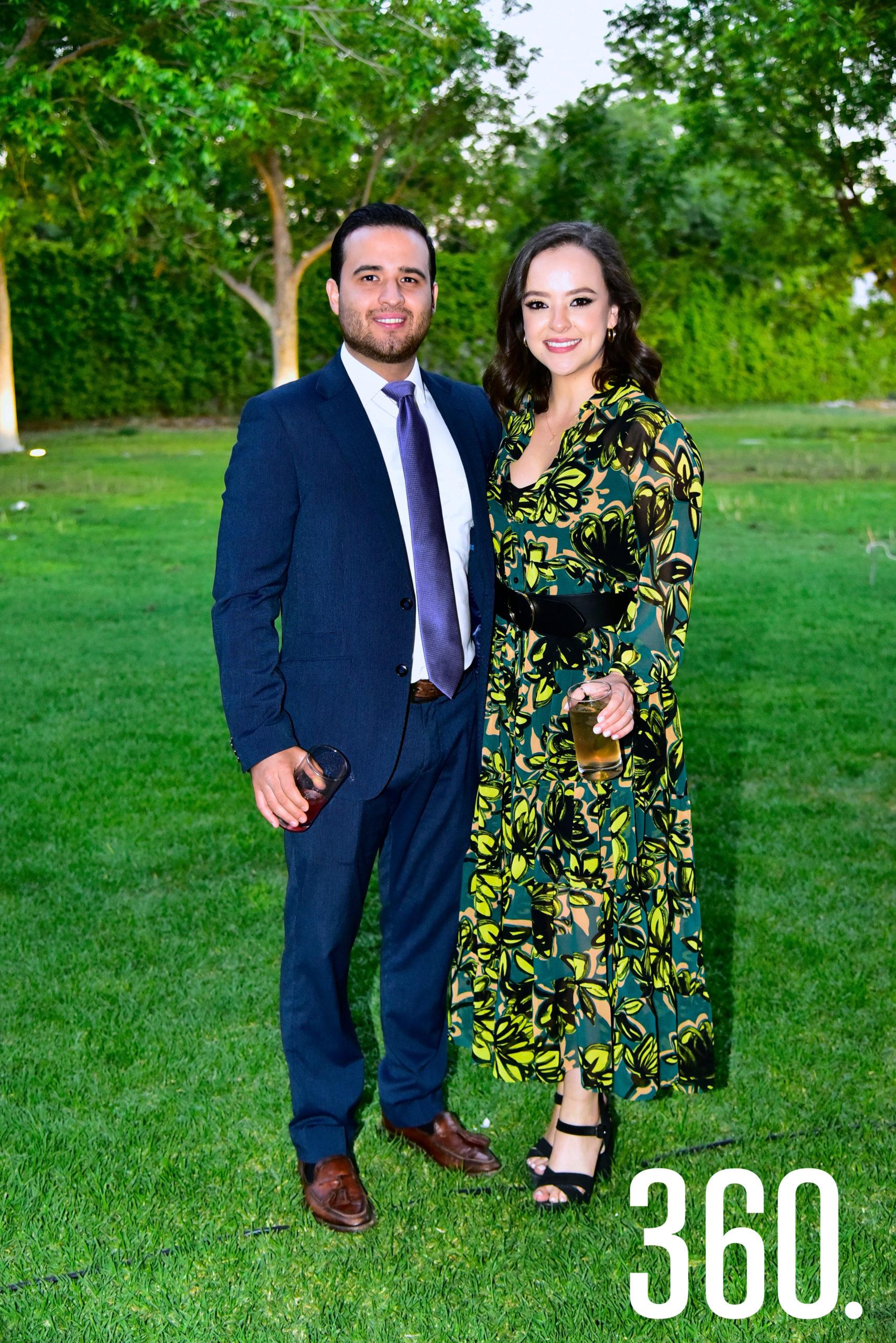 Armando Martínez y Verónica Valdés.