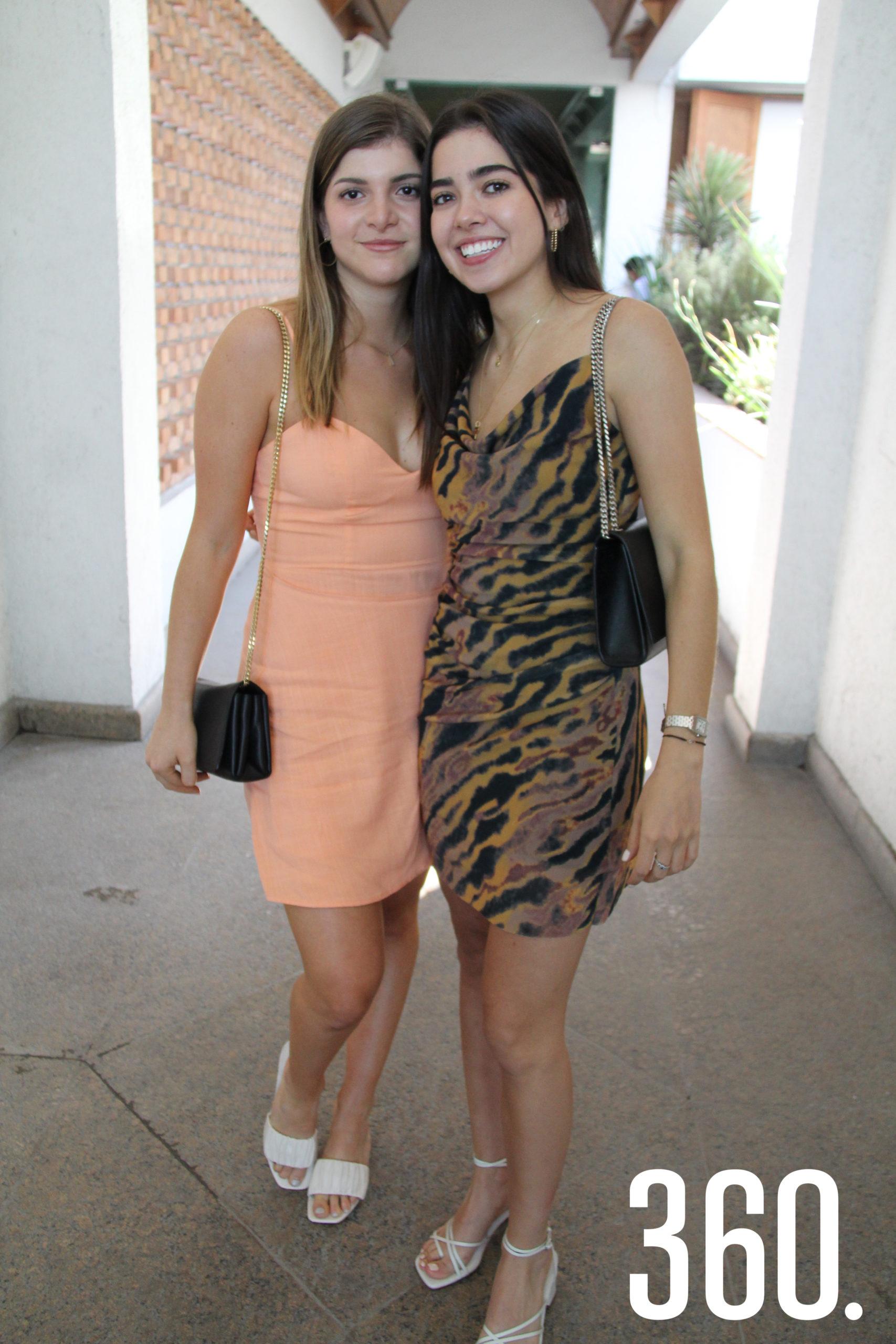 Elisa Ferreiro y Sofía Schmal.