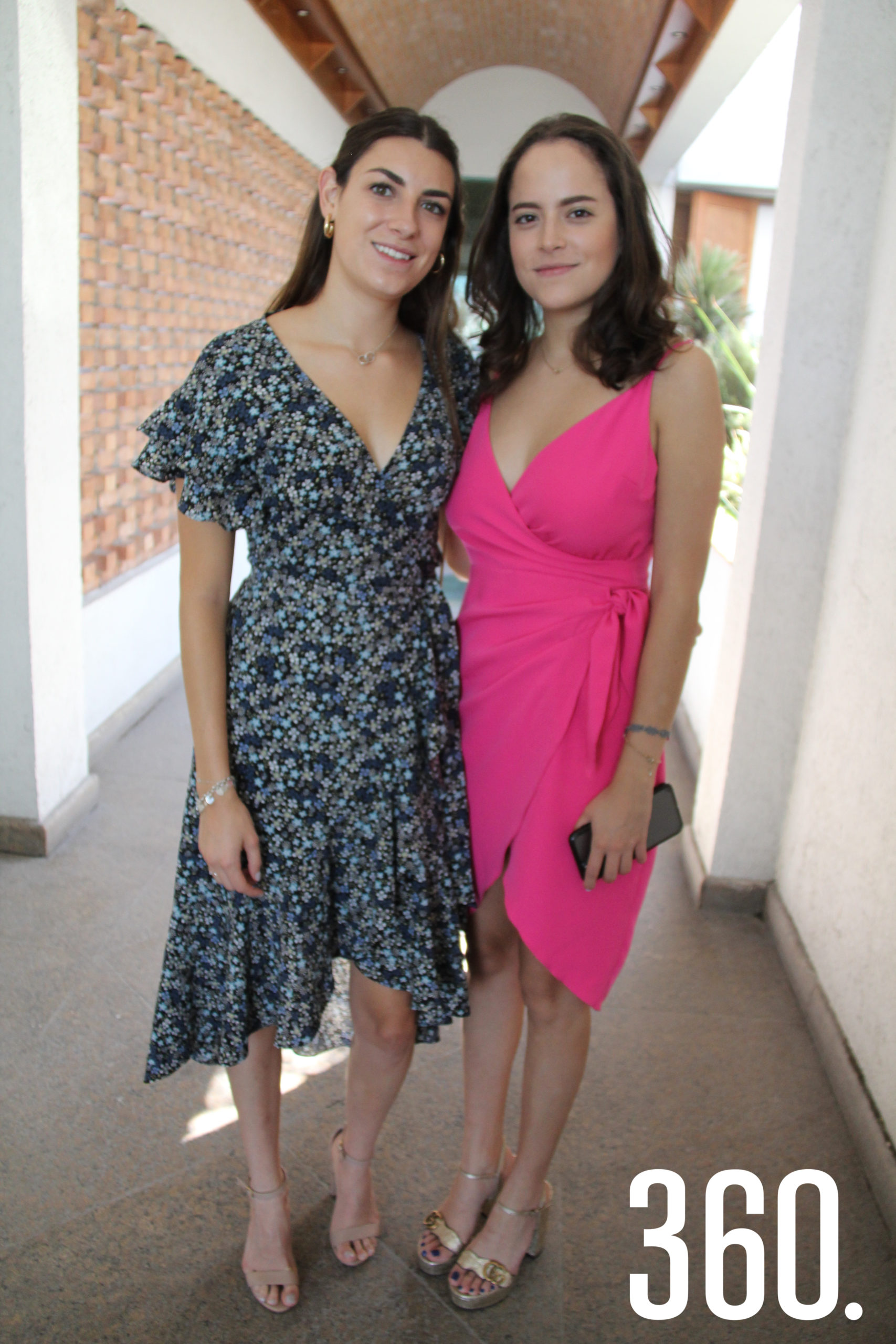 Paola Schaar y Fernanda Pérez Gallardo.