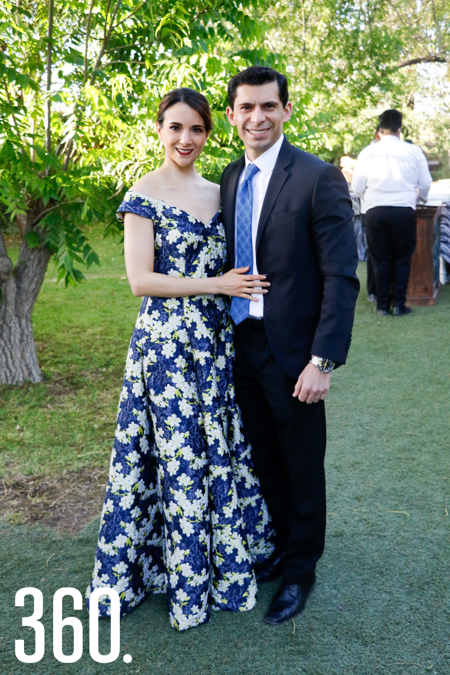 Ana Aguirre y Jonathan Pinedo.