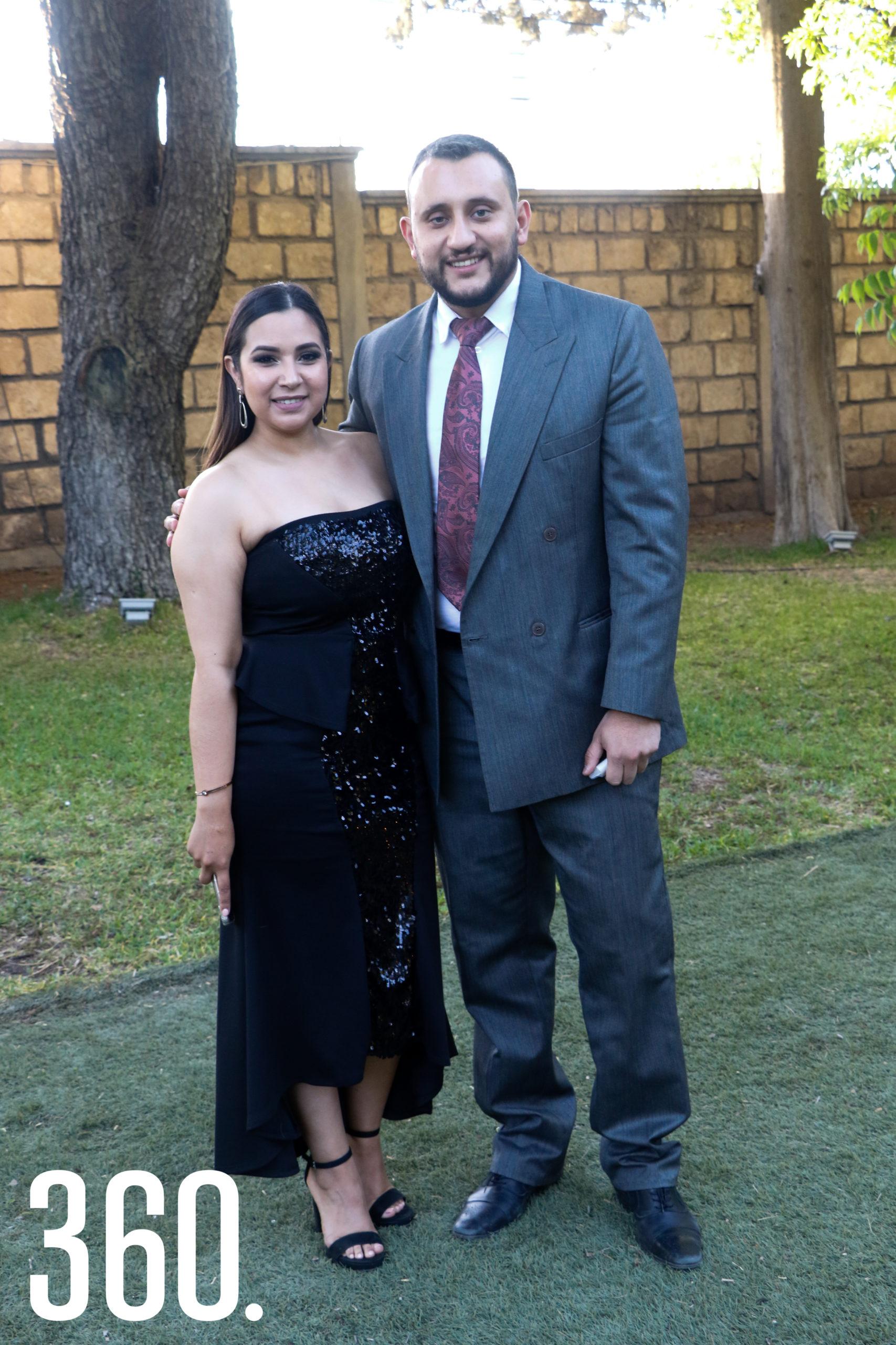 Karen Solís y Miguel Silveyra.