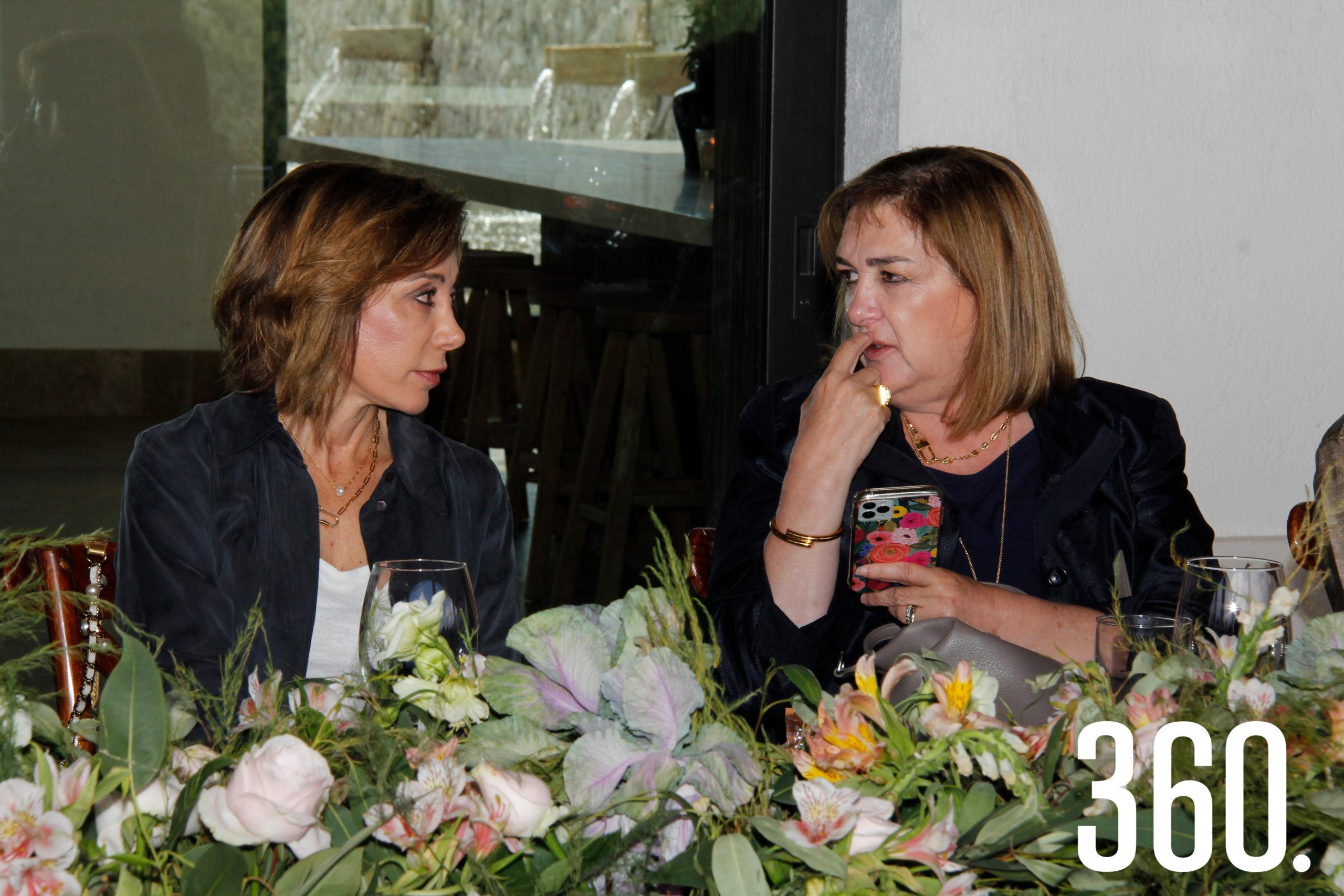Terecata del Bosque y Raquel Torres.