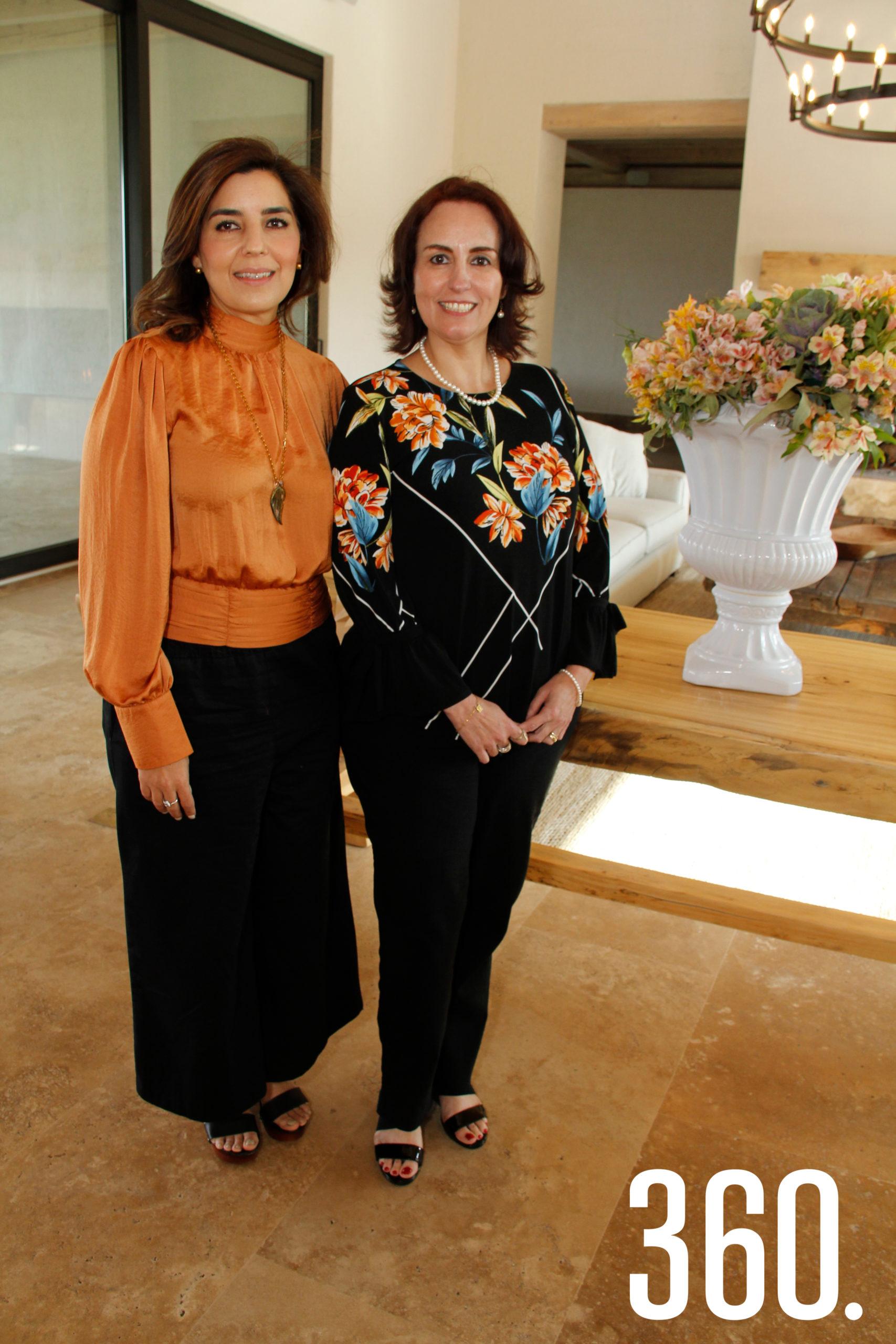 Adriana Vargas y Adriana Valdés.