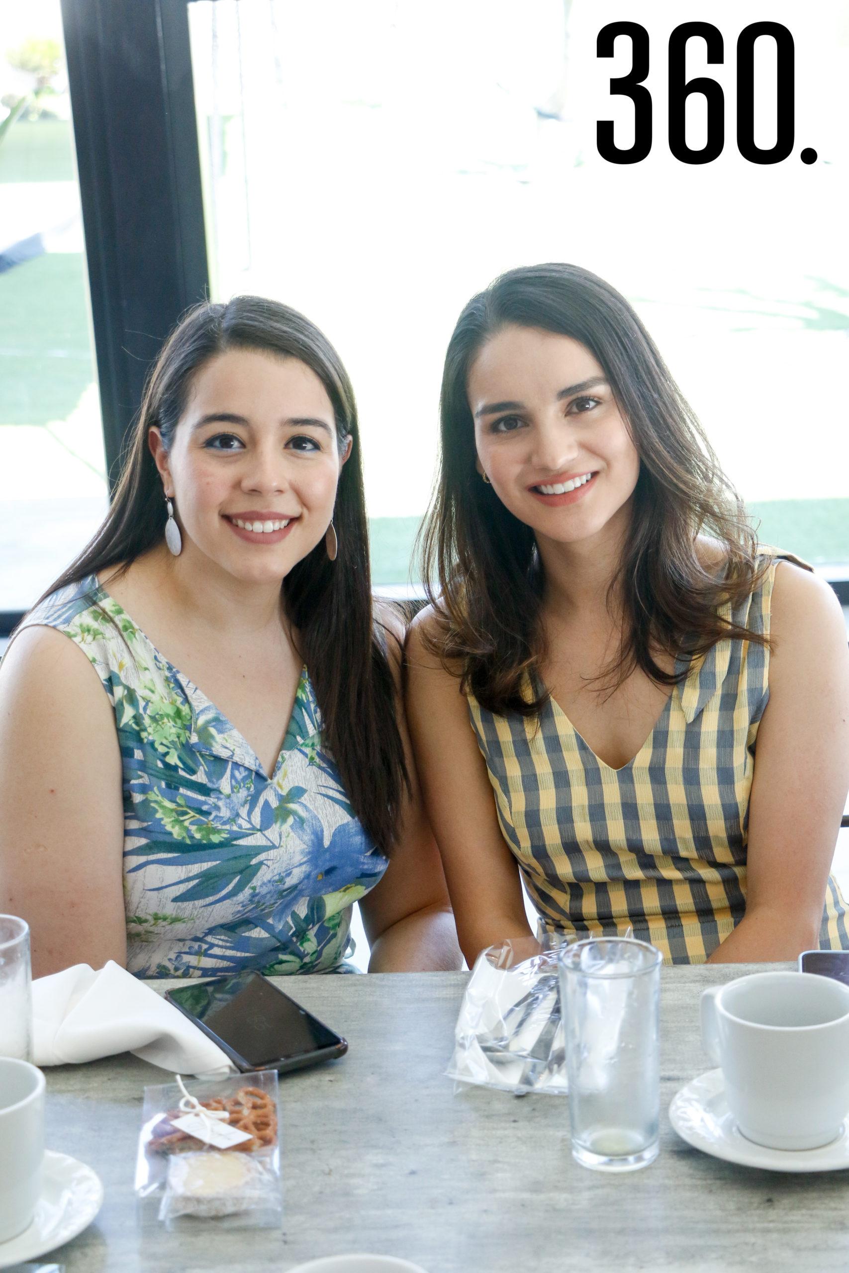 Evelyn Salazar y Marijose Gutiérrez.