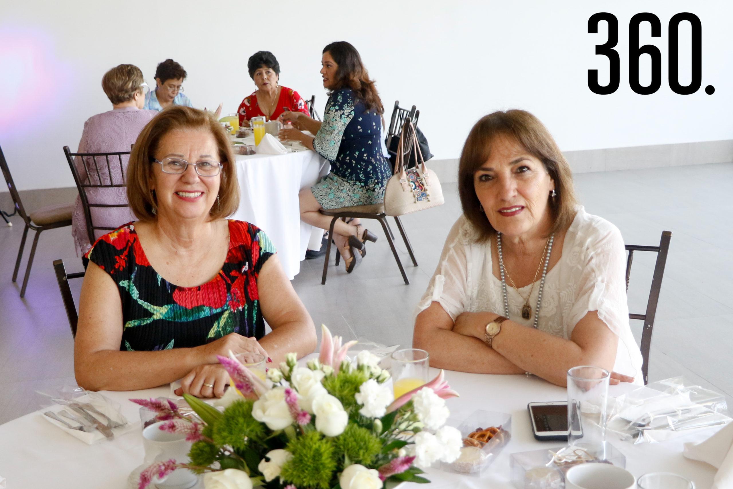 Ana Laura Reyna y Pepa Cepeda.