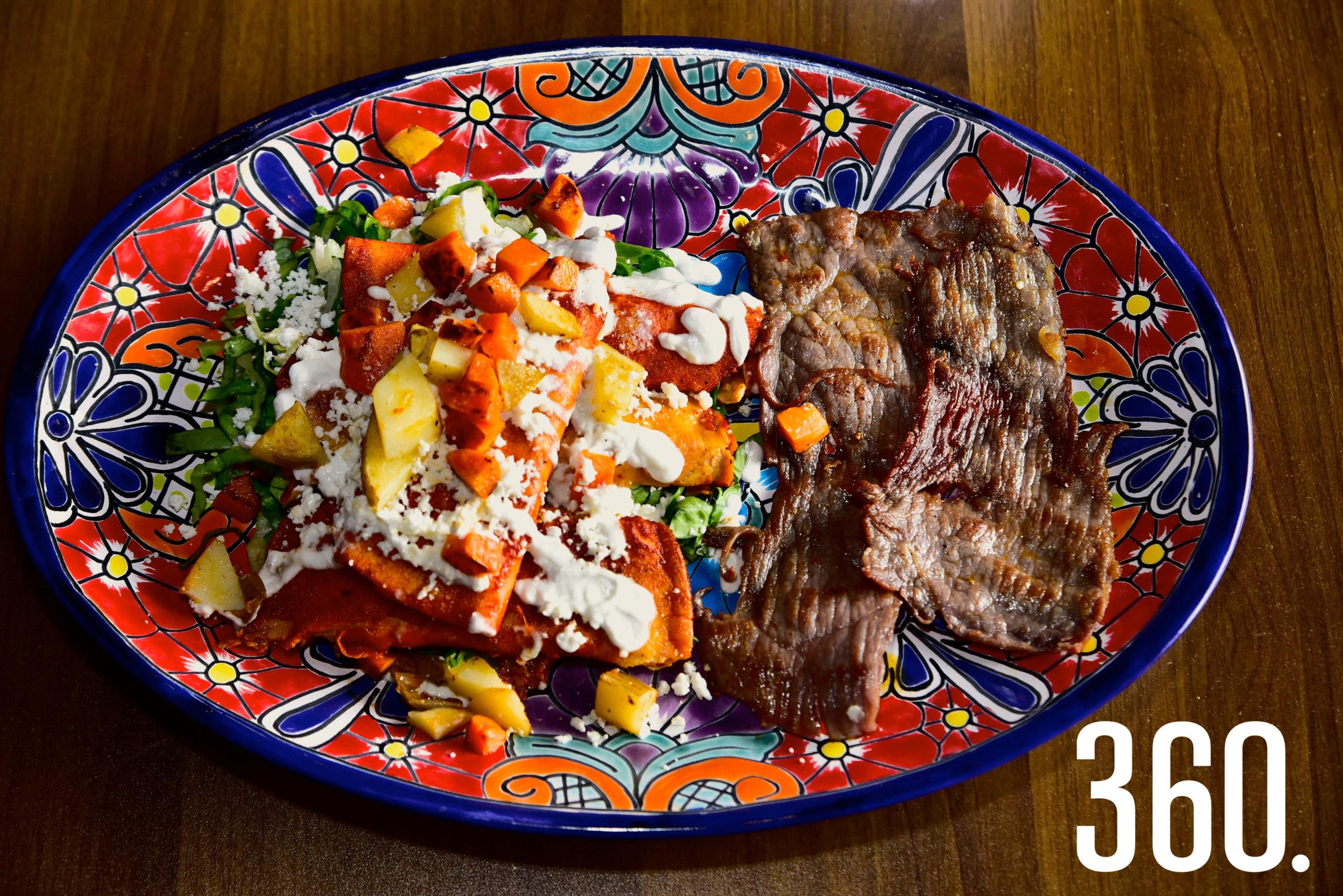 El lugar donde los sabores de todas las regiones de México se fusionan.