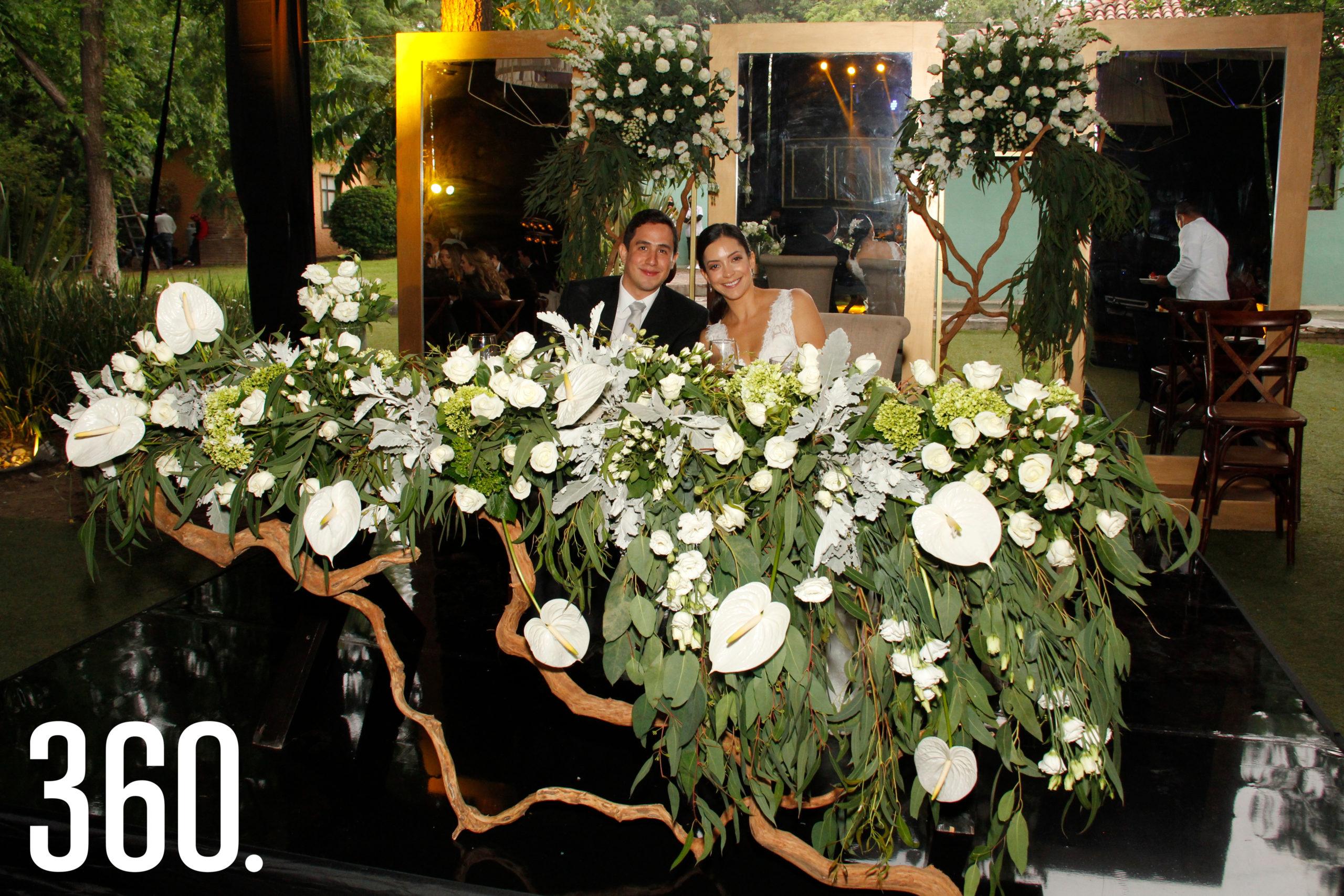 Juan Carlos Díaz Martínez y Ana Paula Torres Flores.