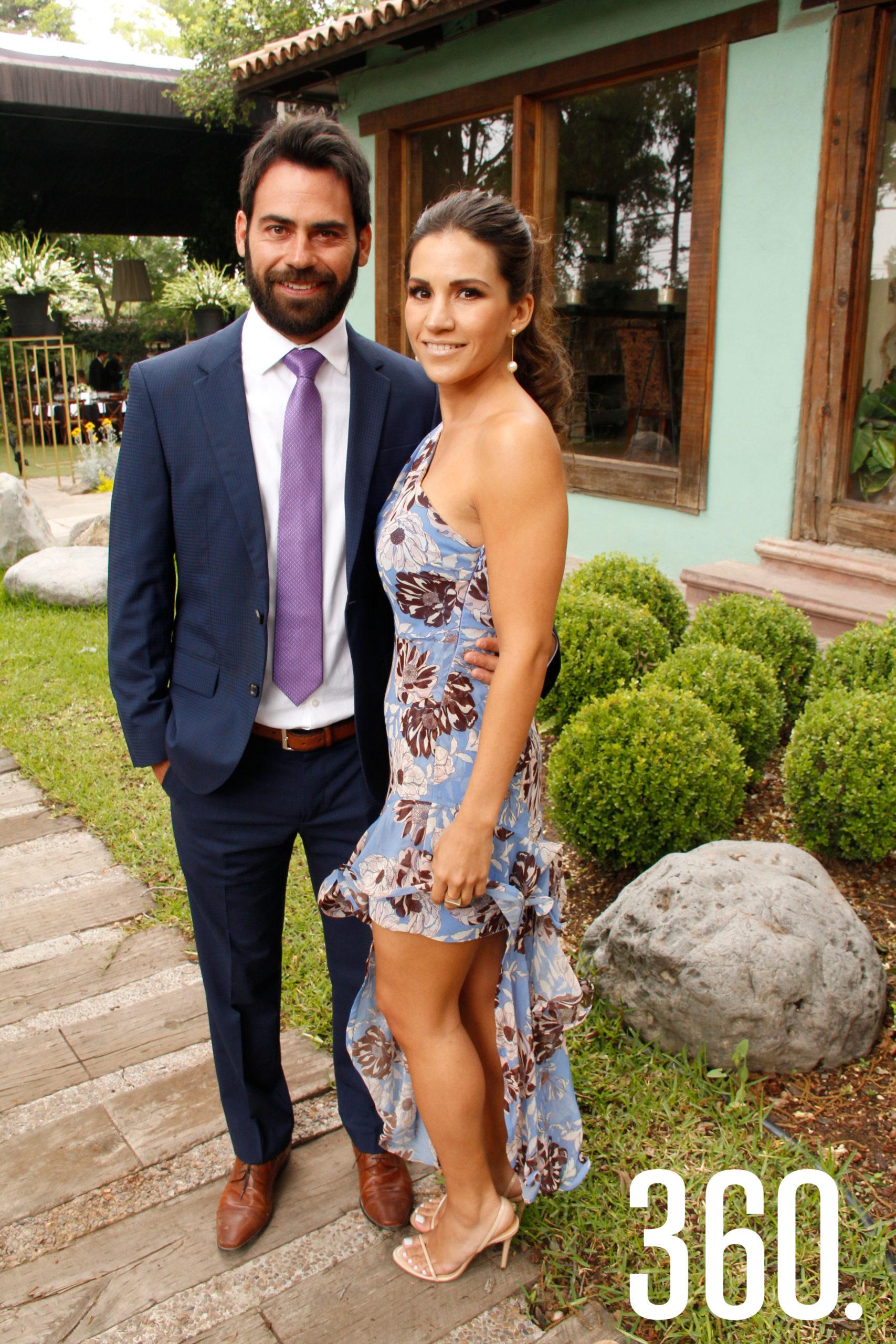 Andrés Villarreal y Marcela Cepeda.