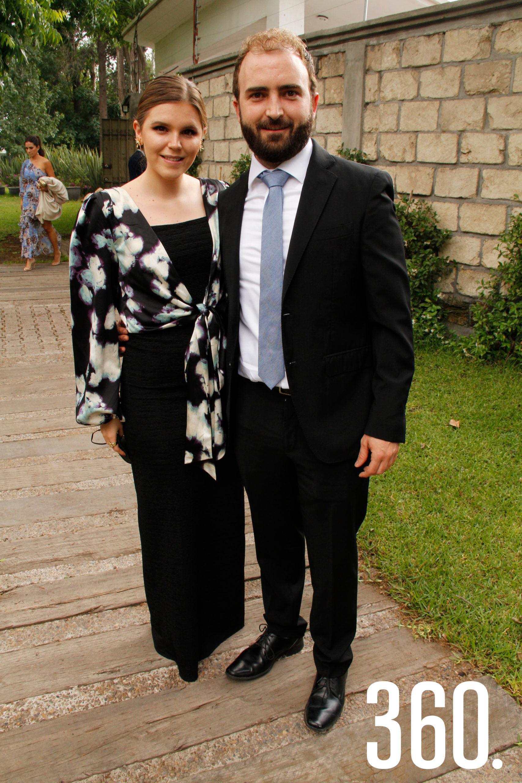 Bárbara Cárdenas y Pedro Gentiloni.