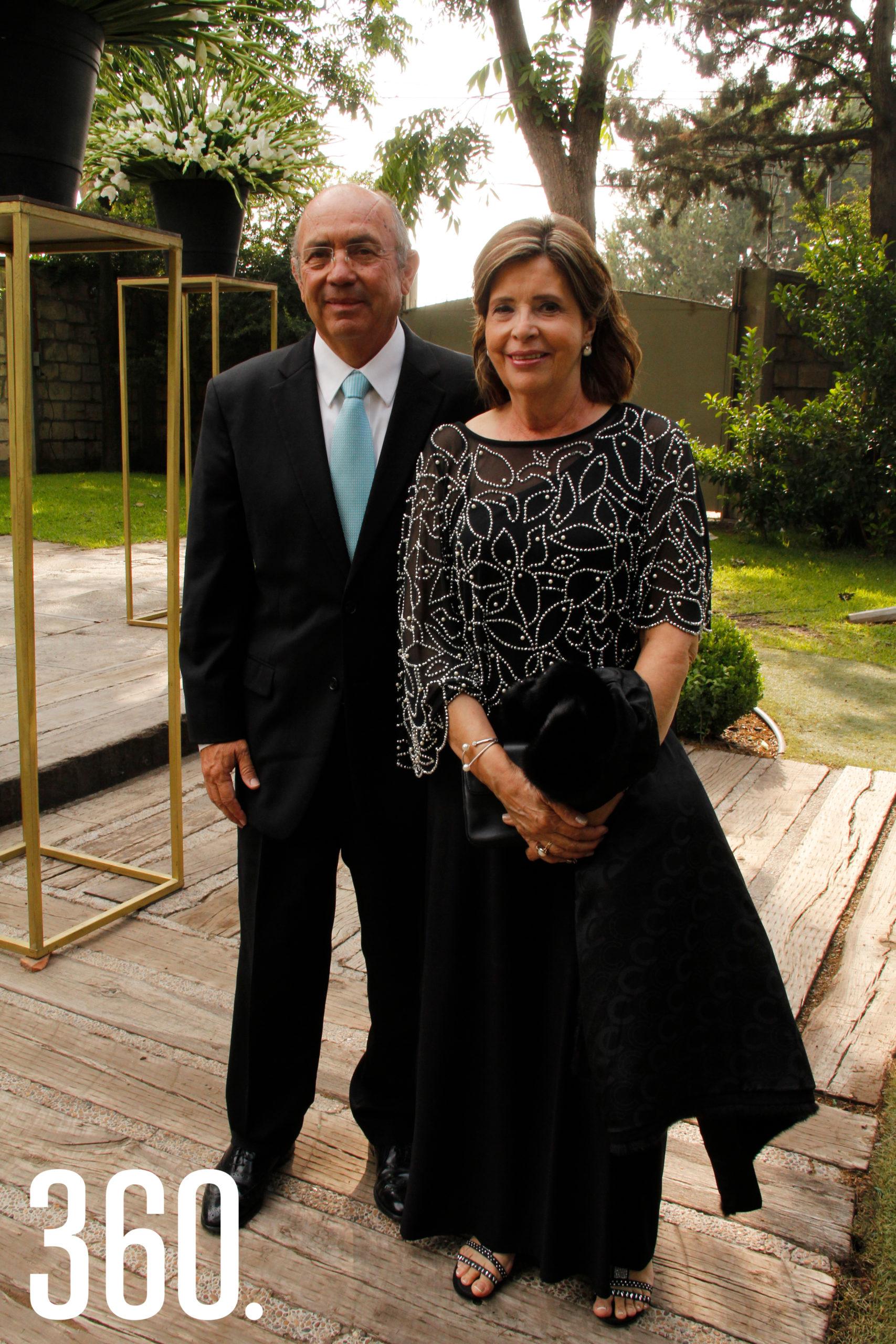 Javier Díaz y Ana Catalina González.