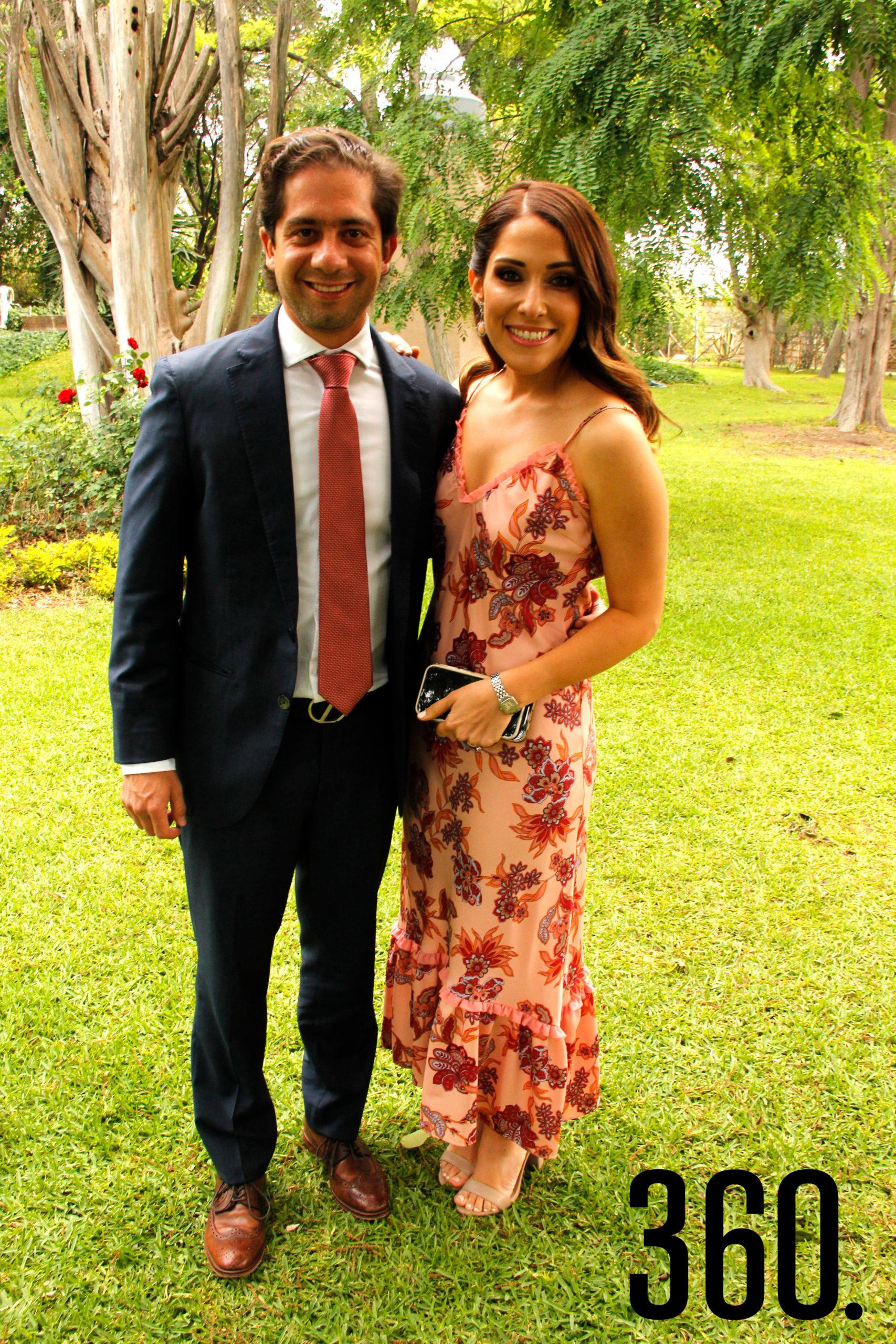 Ricardo Villarreal y Marcela Cepeda.