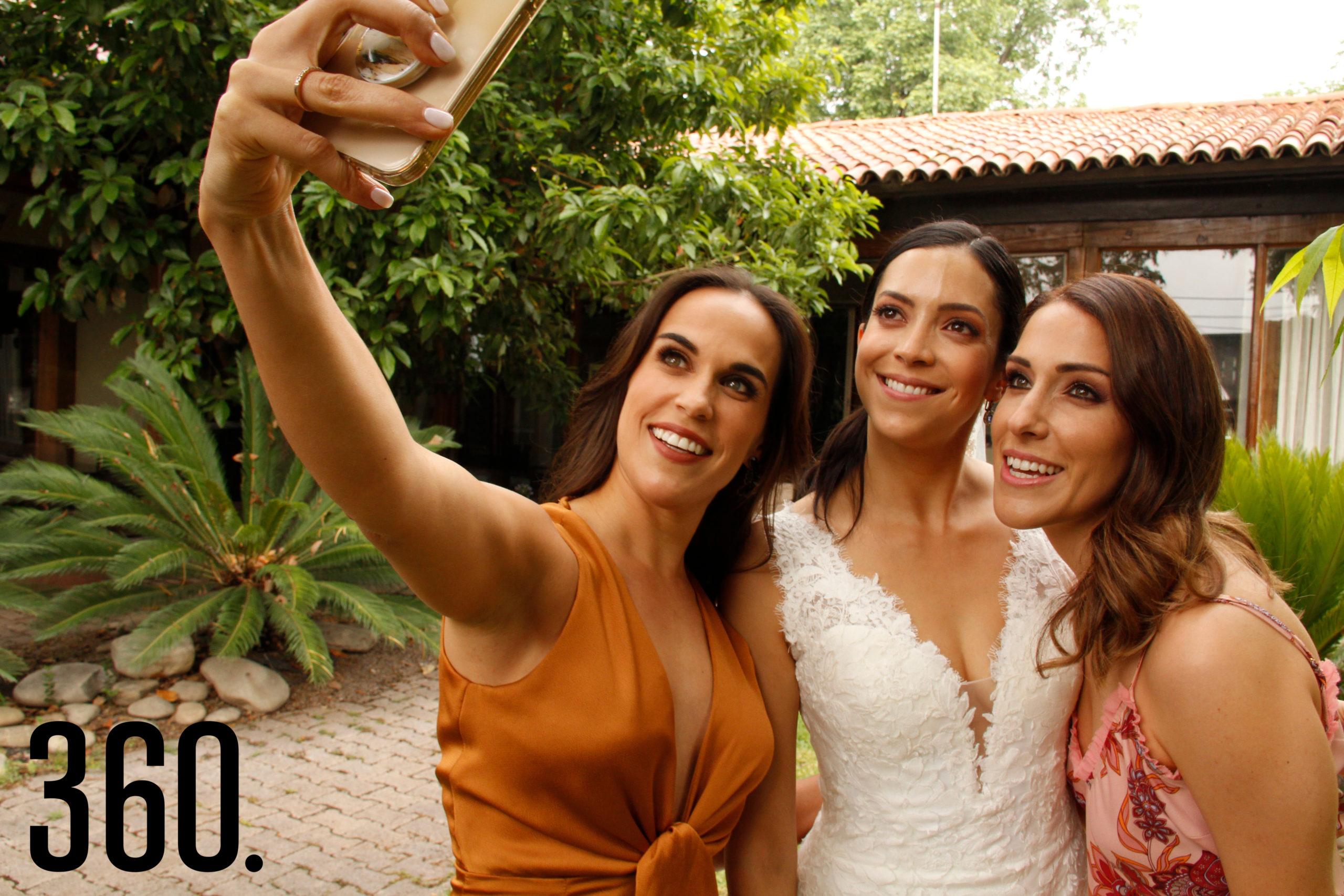 Martis López, Ana Paula Torres y Marcela Cepeda.