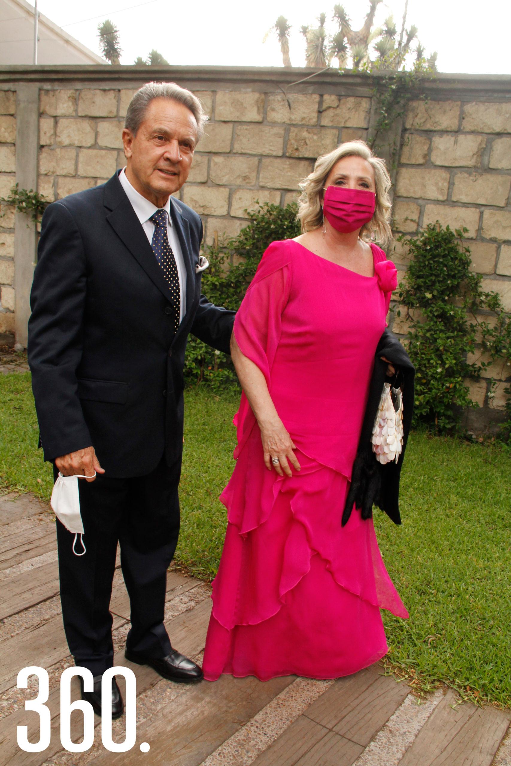Gabriel Calderón y Martha Díaz.