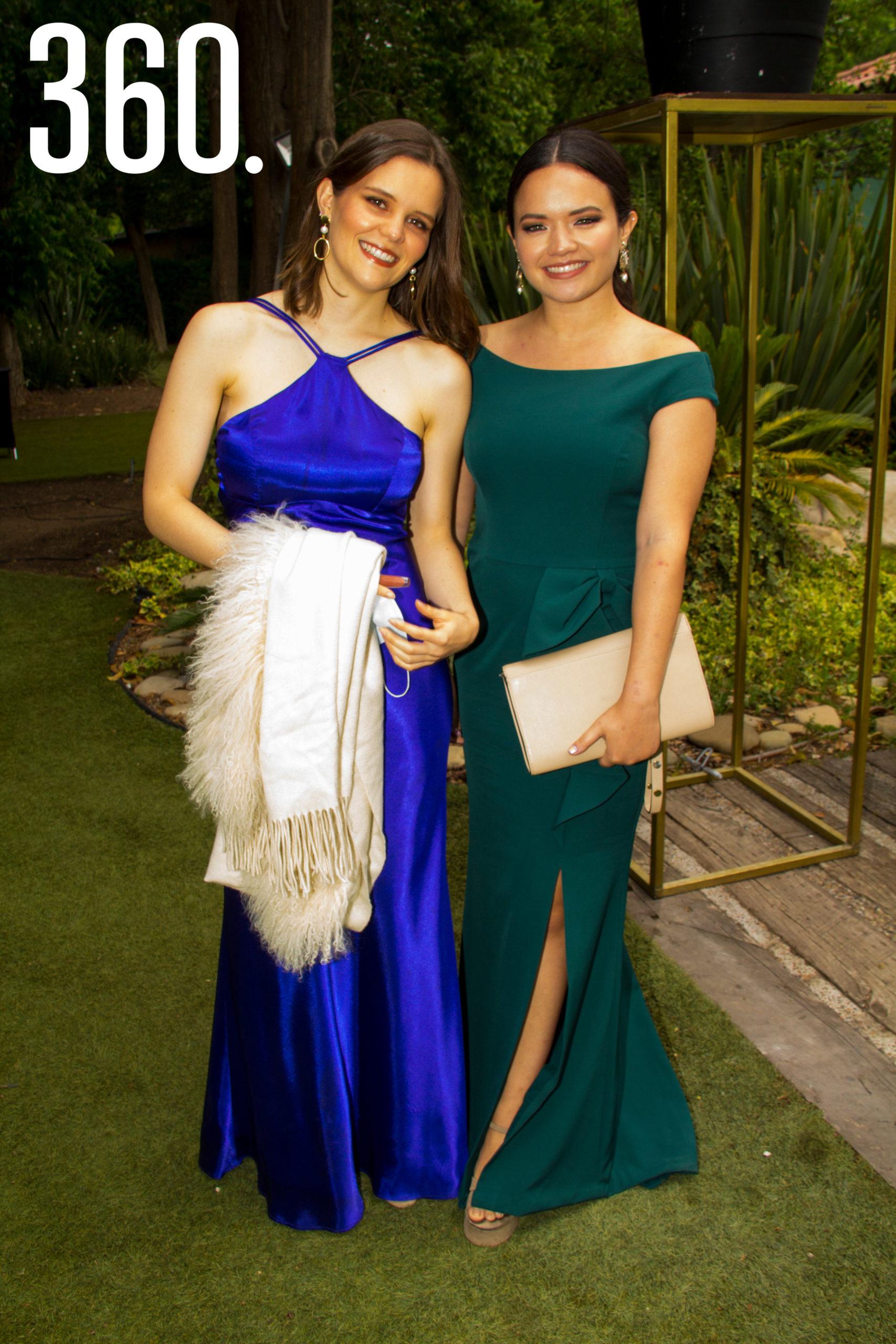 Paulina Garza y Bessy Gutiérrez.