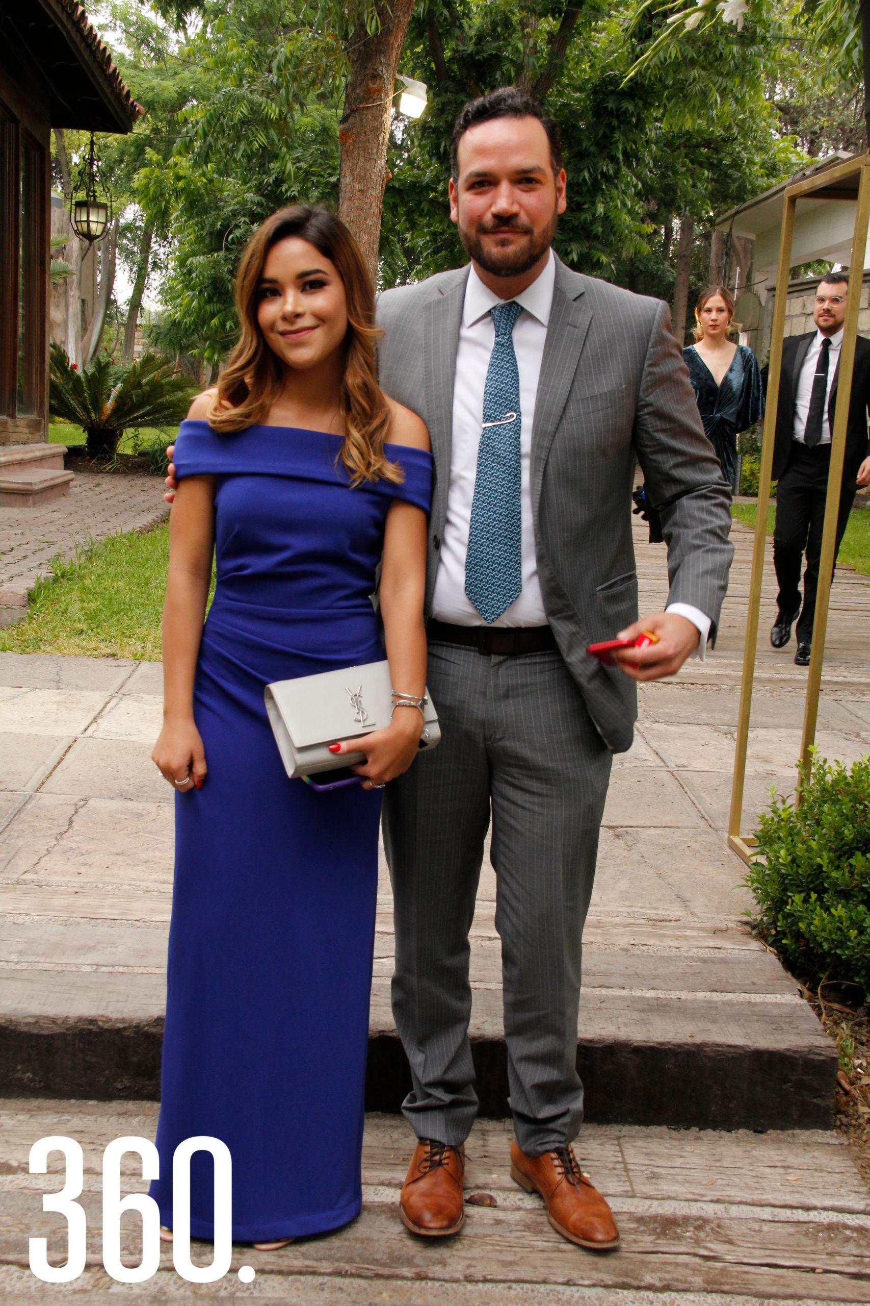 Karime Suaste y Jaime Martínez.