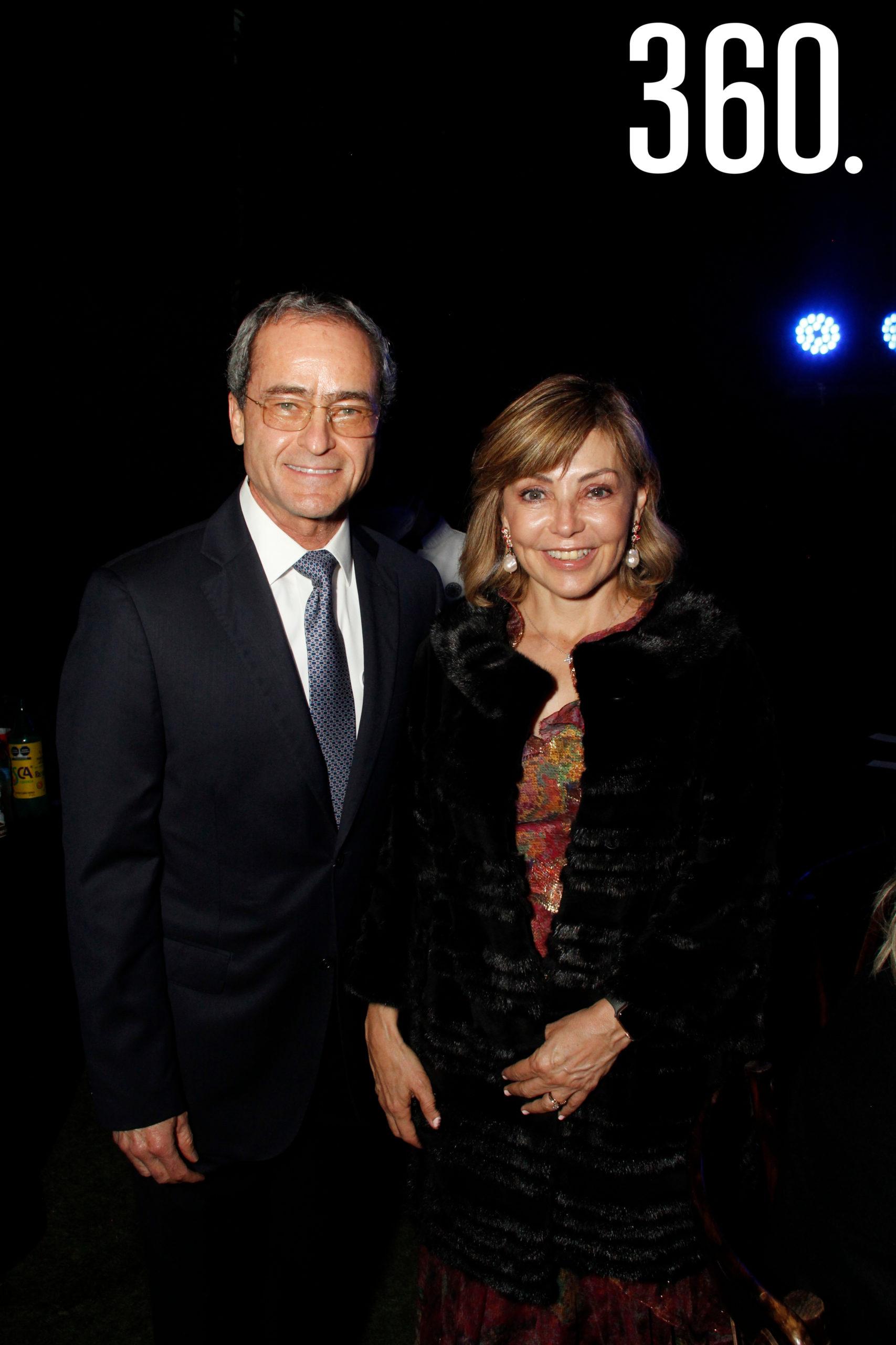 Luis Arizpe y Conchita Aguirre.