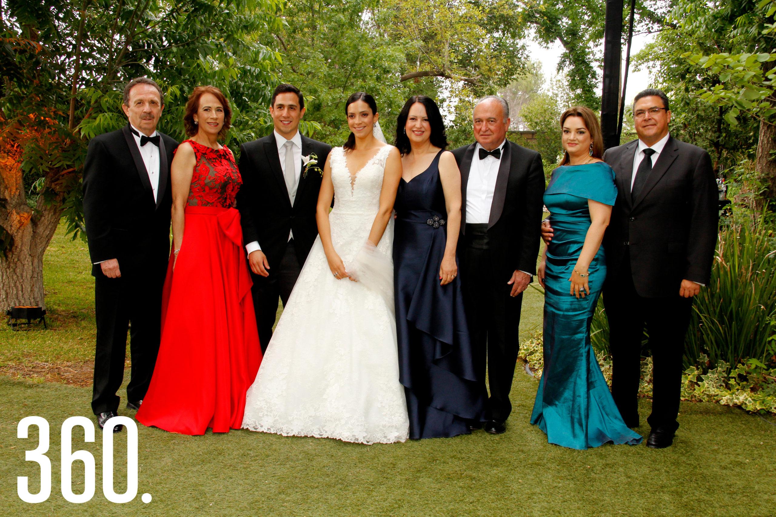 Josué Díaz Jiménez, Irma Inés Martínez, Juan Carlos Díaz, Ana Paula Torres Flores, Sofía Flores Mier, Abel Narro, Ariadna Aguilar y Felipe Torres López.