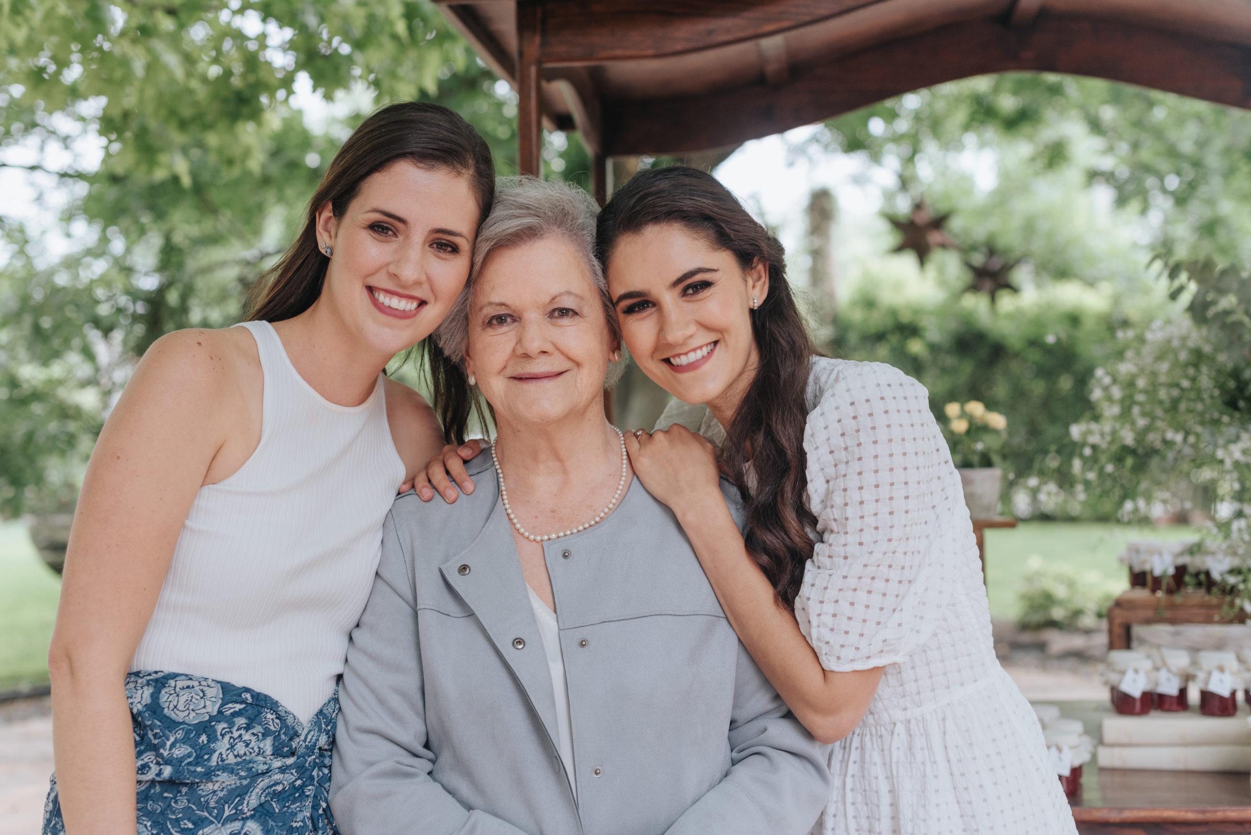 Sofía Herrera, Sofía Villarreal y Ana Gaby Herrera.