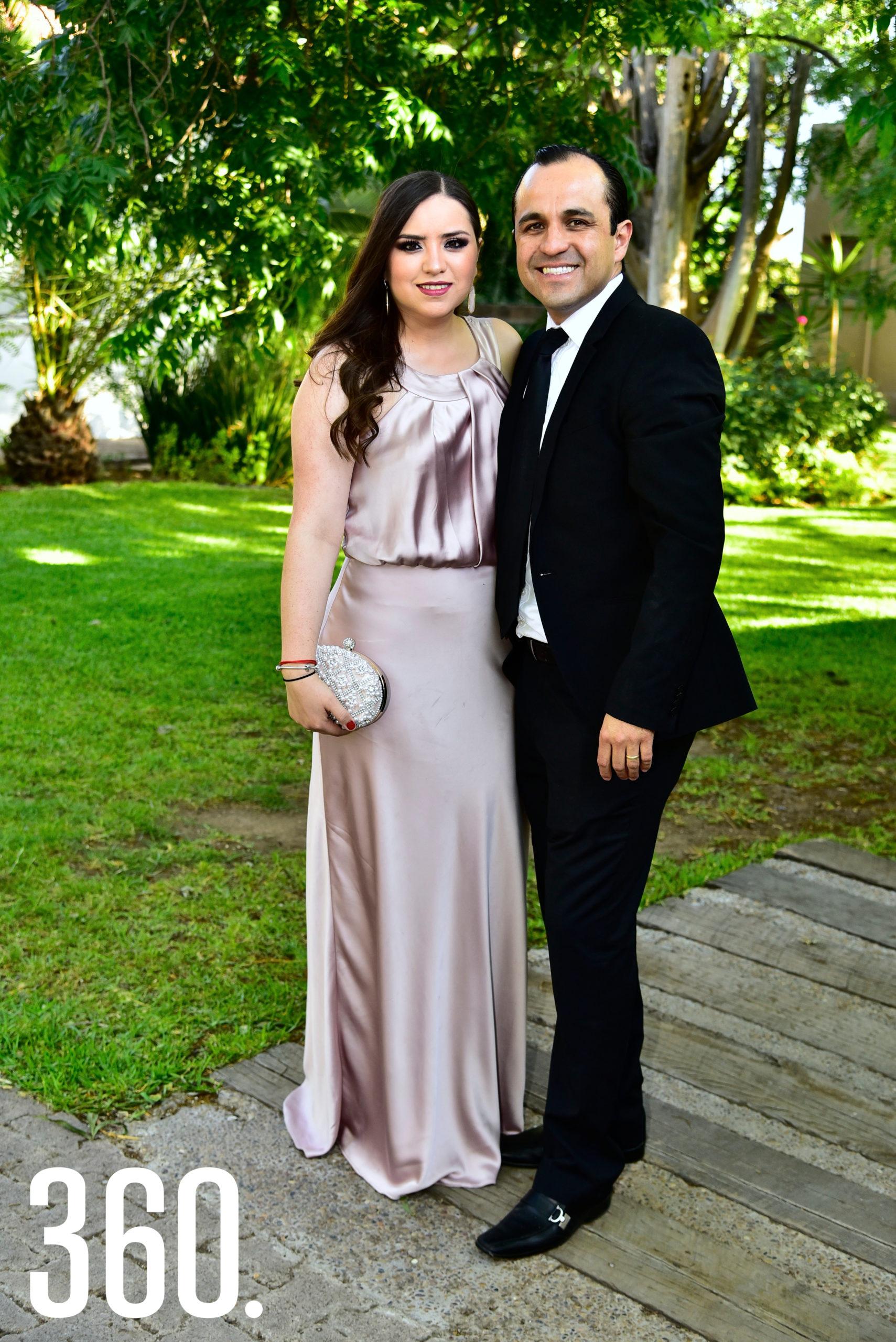 Claudia Valdés y Miguel Sevilla.