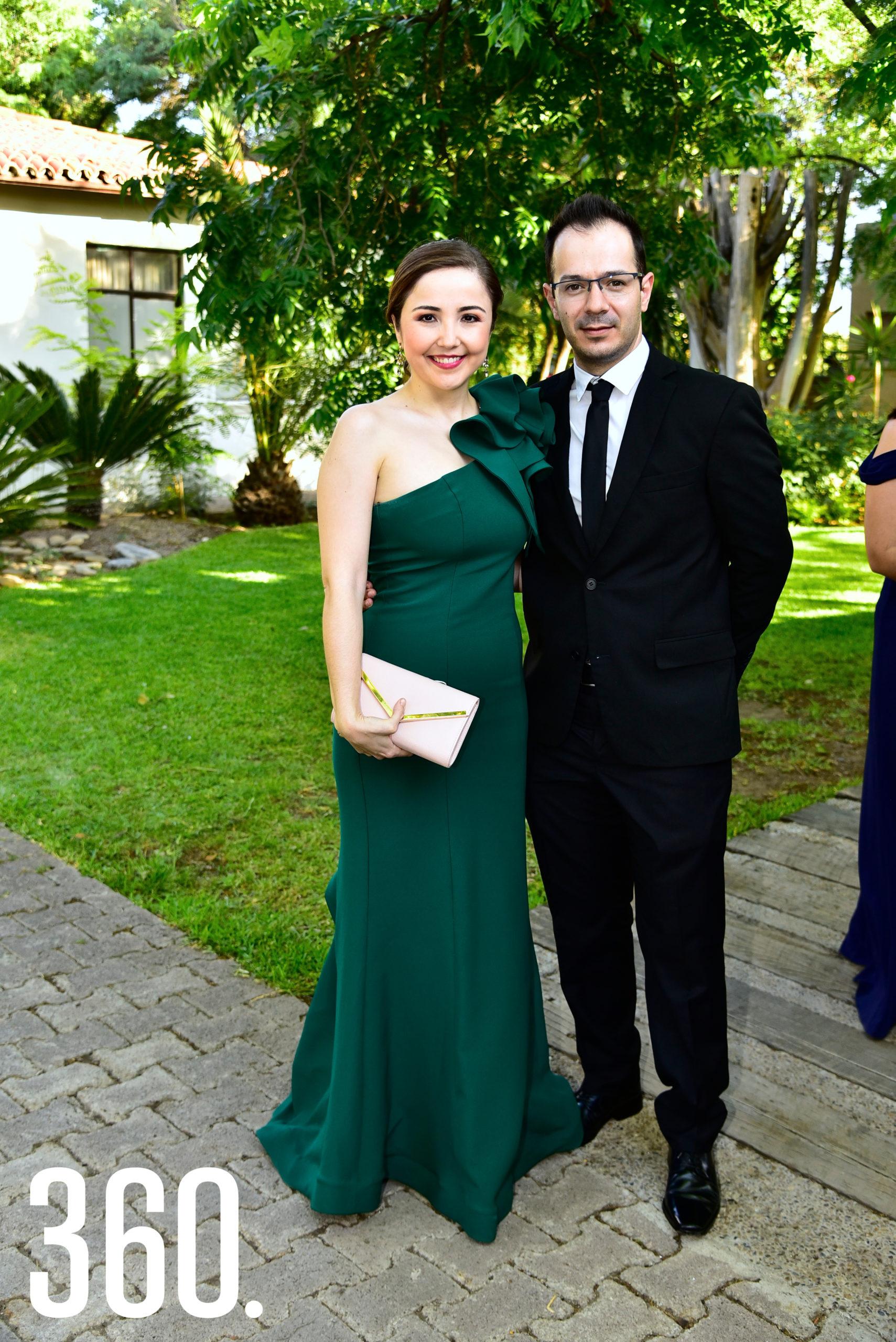 Alejandra Gallardo y Óscar Aguilar.