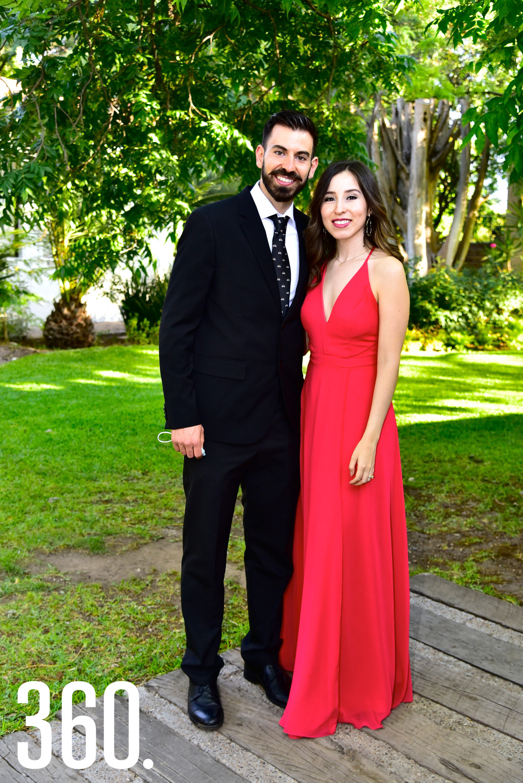 Imanol Peña y Alba Flores.