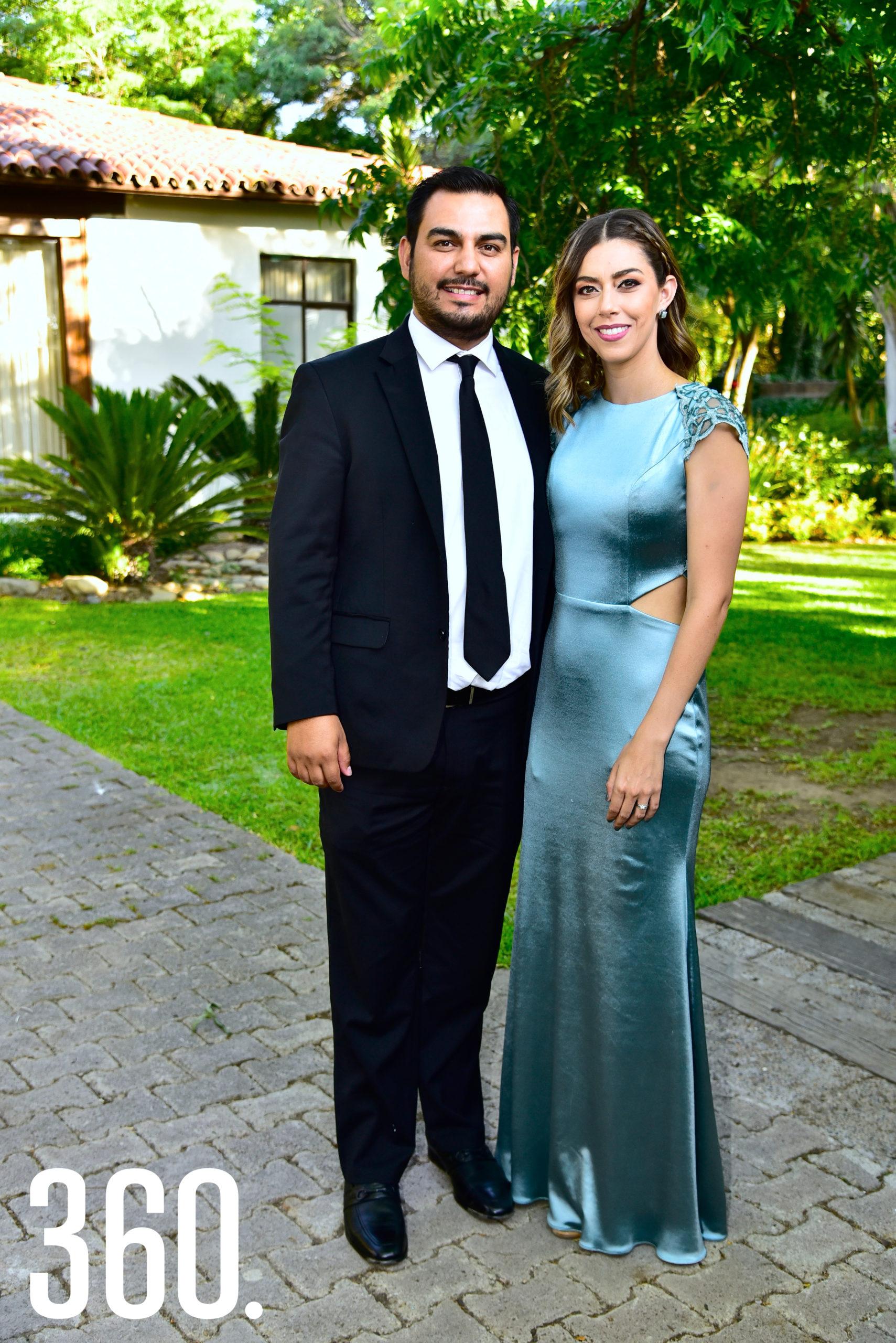 David Narro y Claudia Yates.