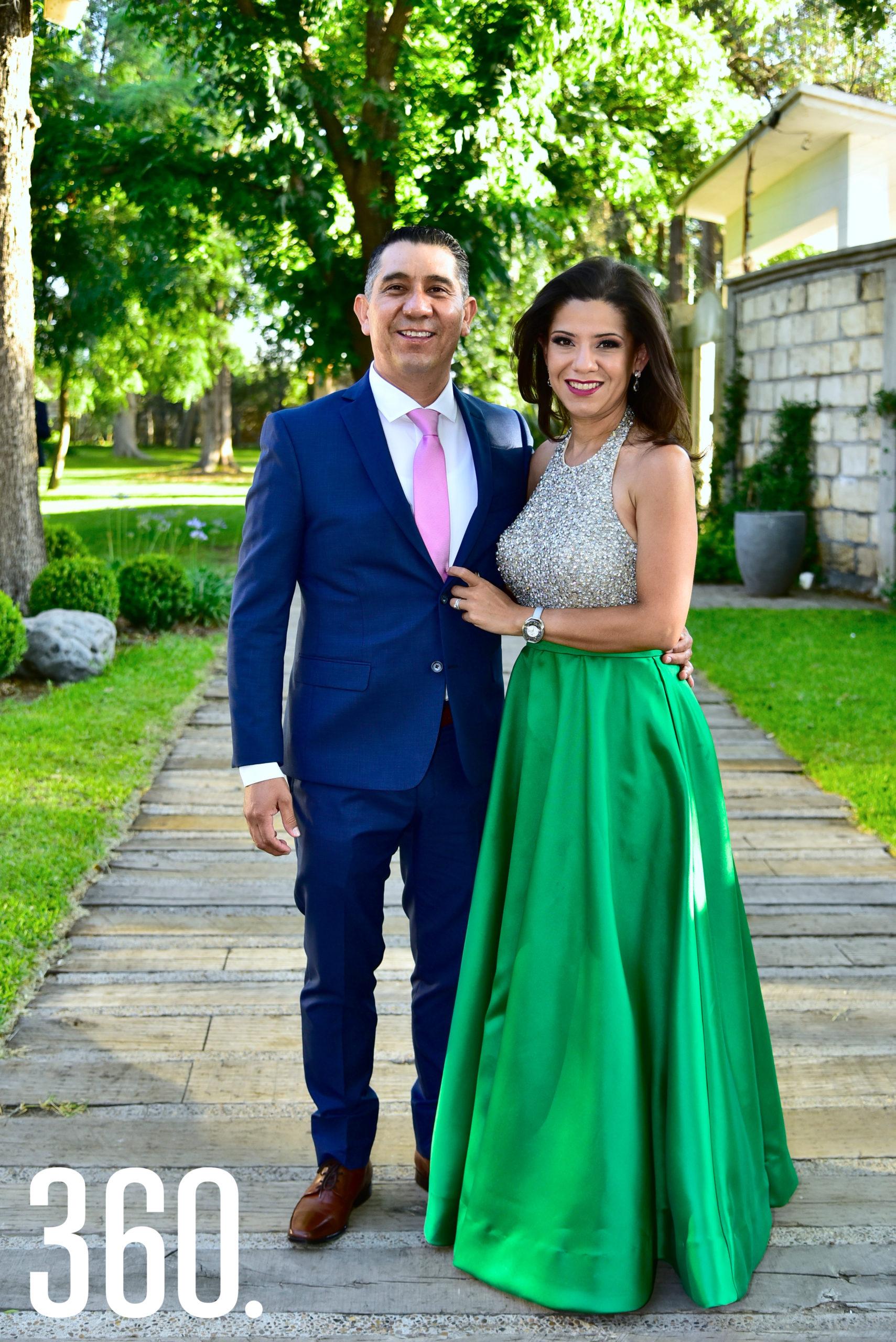 Edgar Hernández y Alejandra Ortiz.