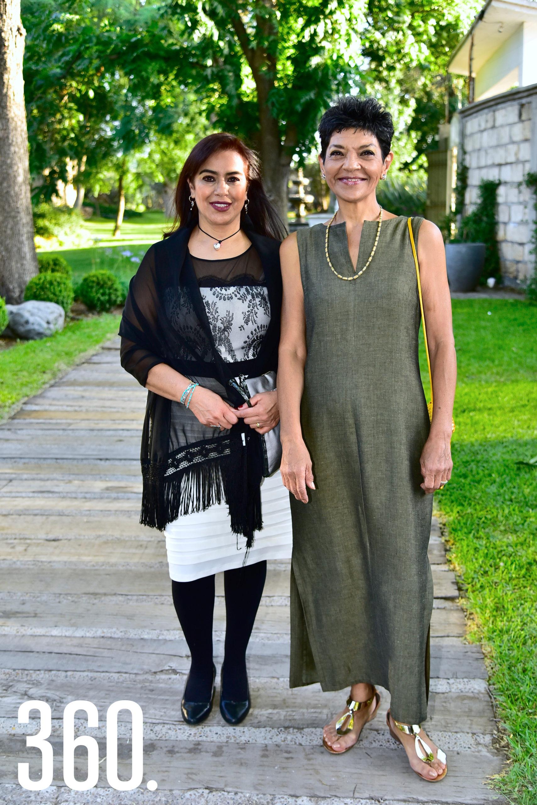 Lilian González y Eréndida Jiménez.