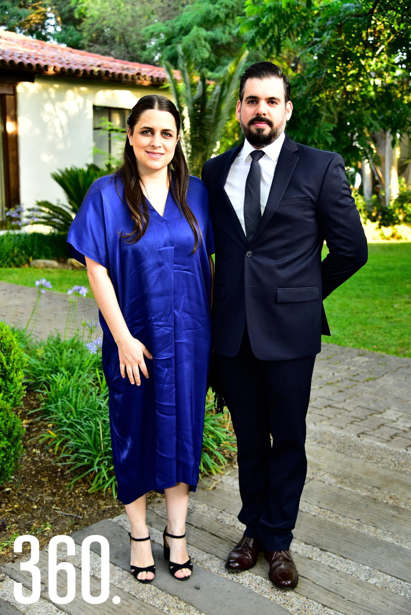 Florencia Lindow y Jaime Padilla.