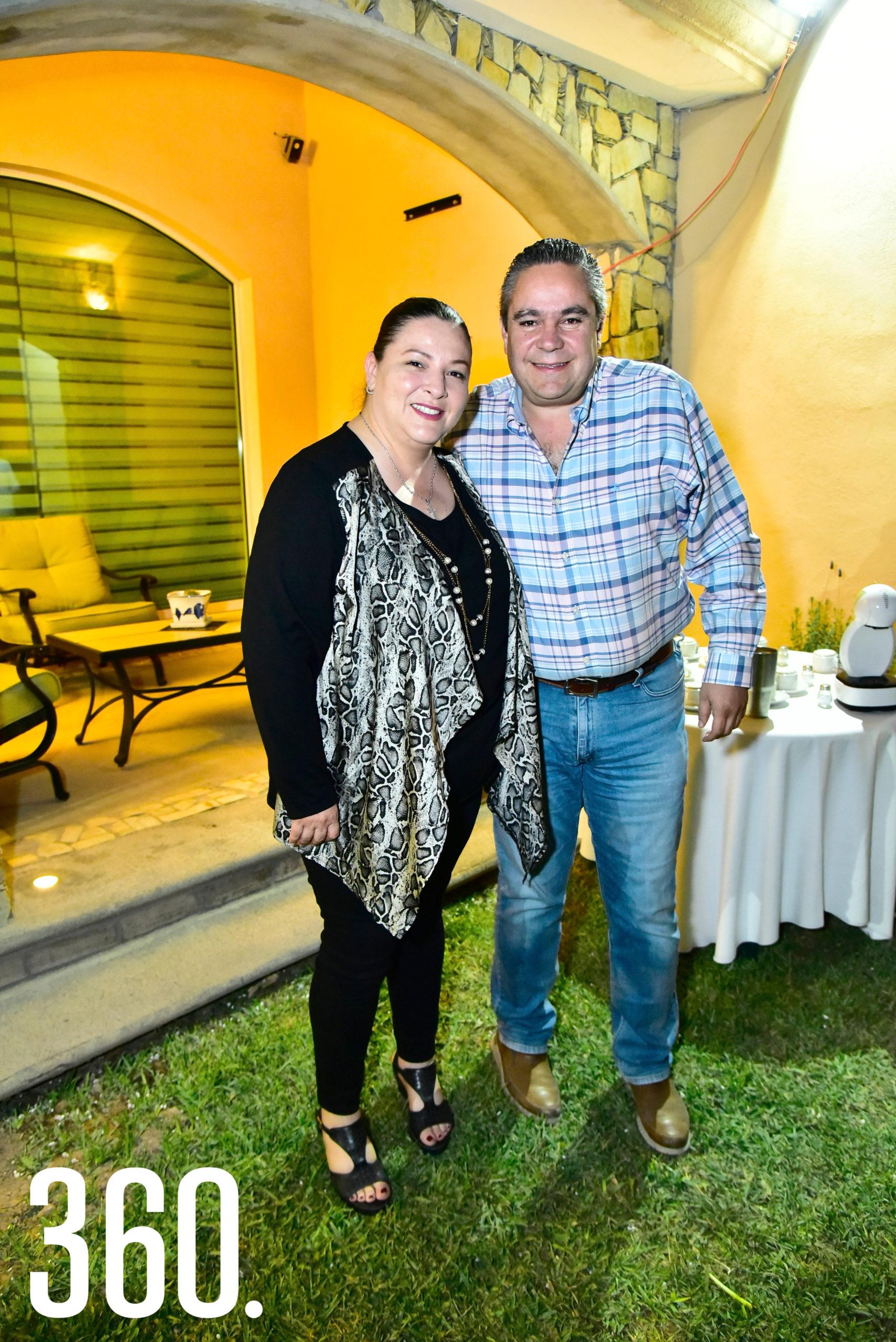 Sofía García y Jorge de la Peña.