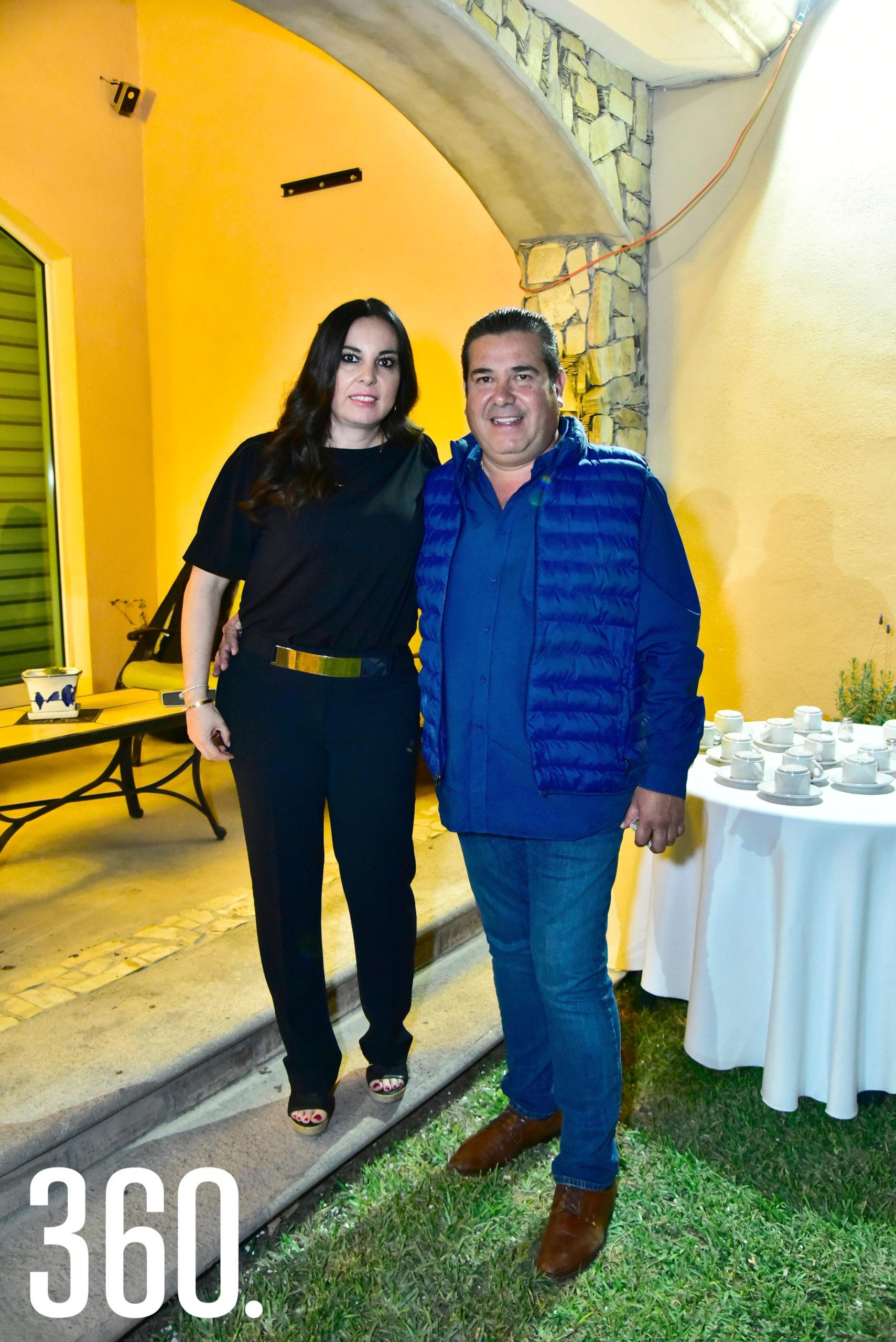 Erika de Hoyos y Jorge Gloria.
