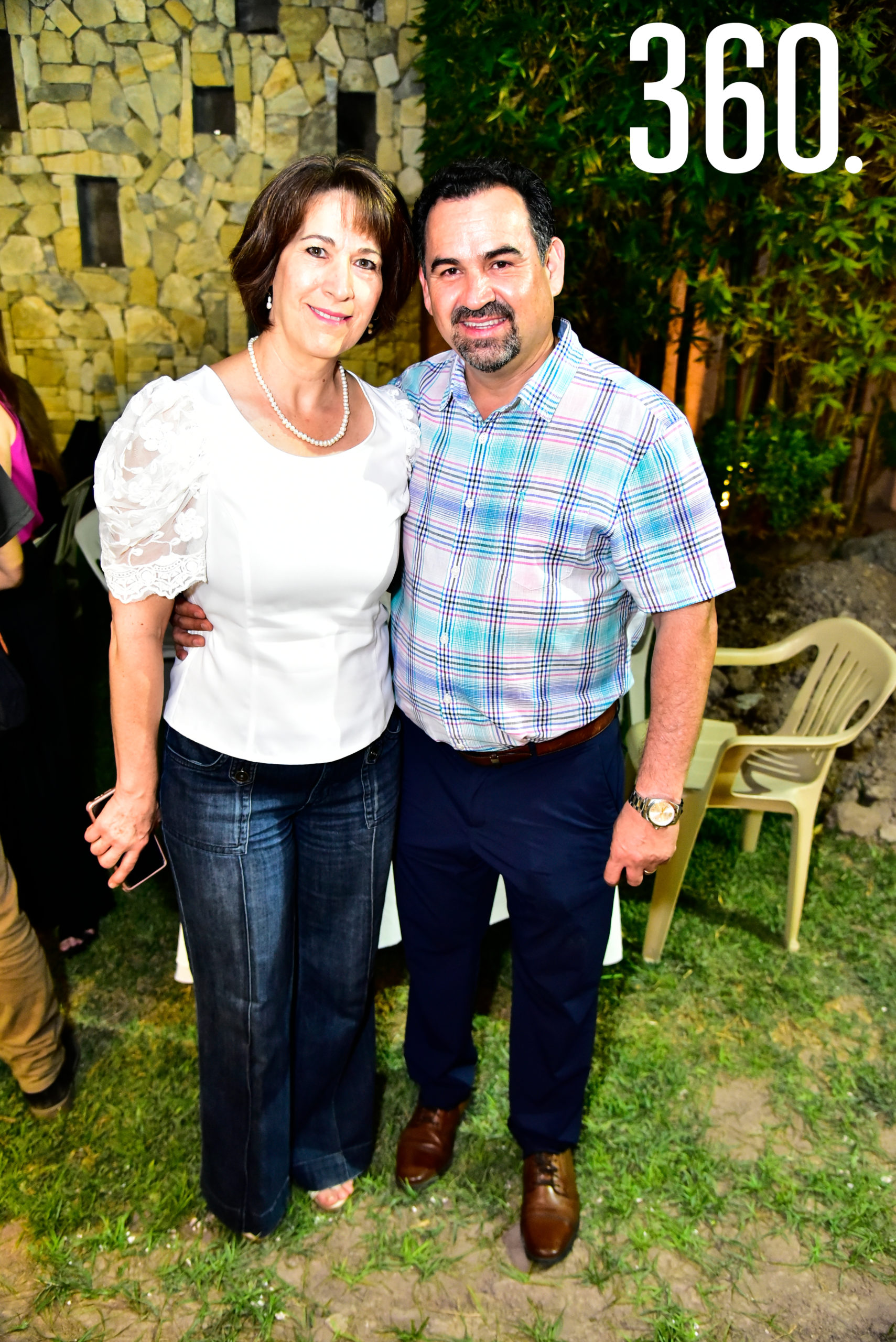 Lourdes Ochoa y Heriberto Oyervides.