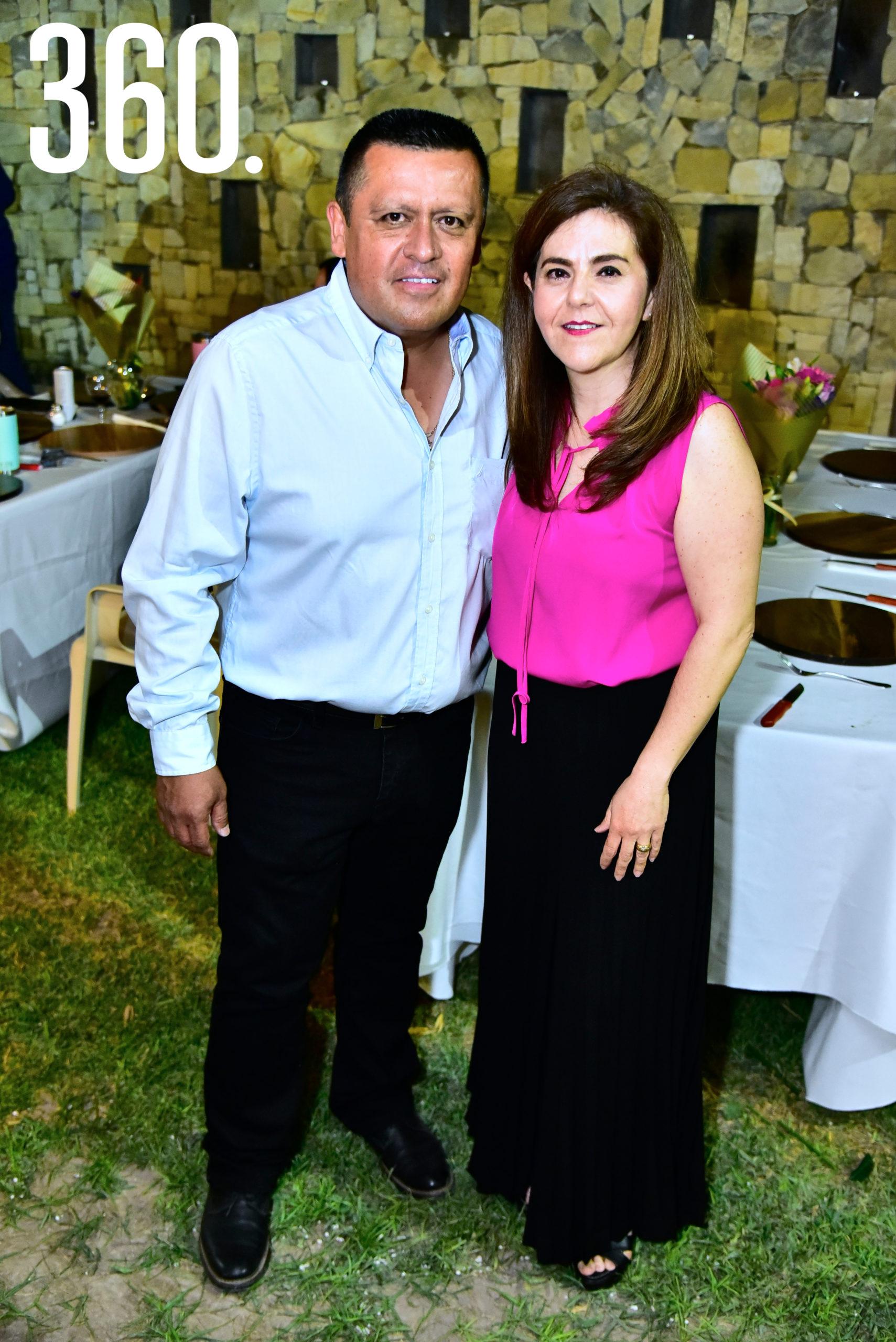 Alejandro Rodríguez y Yolanda Ramos.