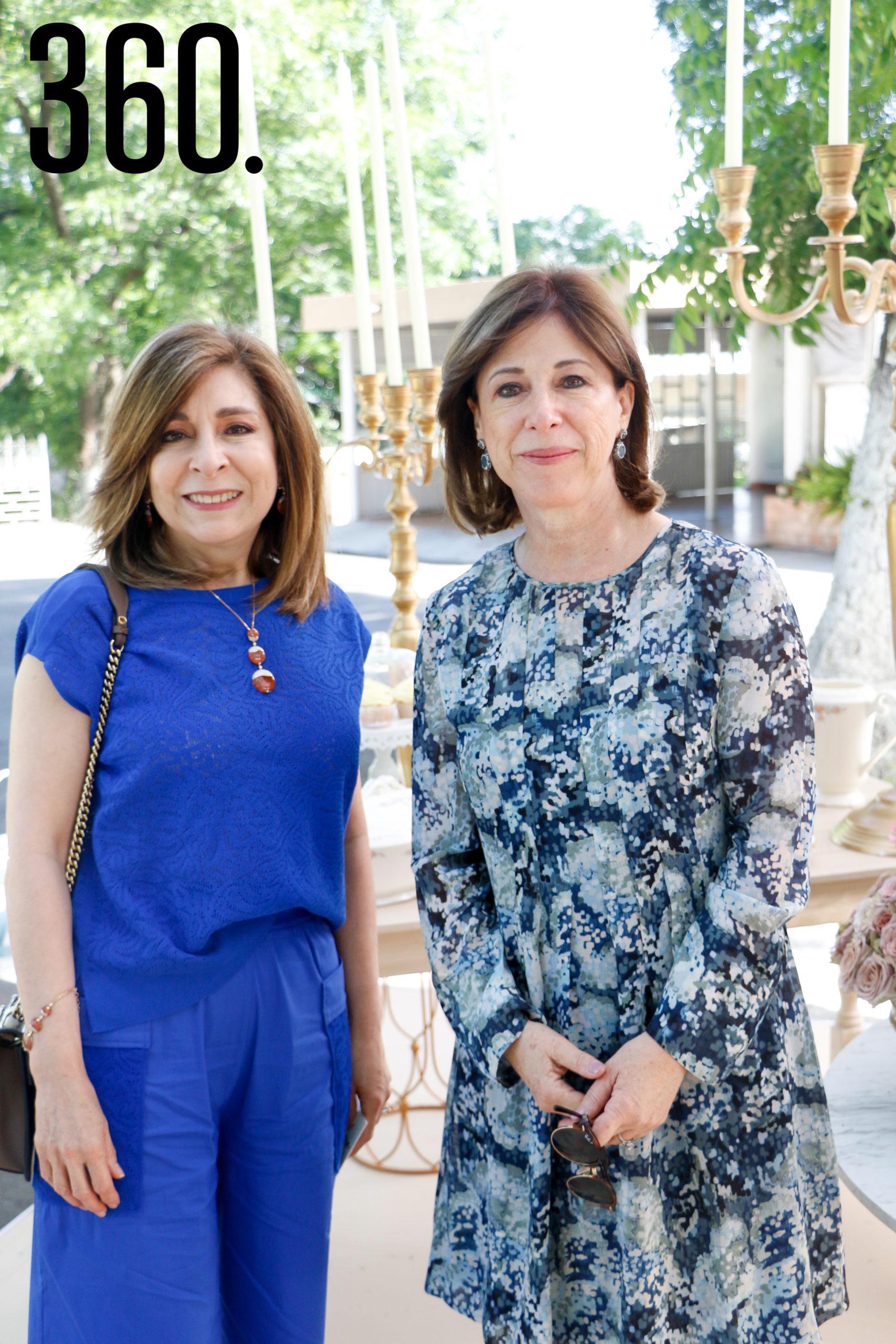 Marielena Saldívar de Arizpe y Bonnie Guajardo de Cepeda.