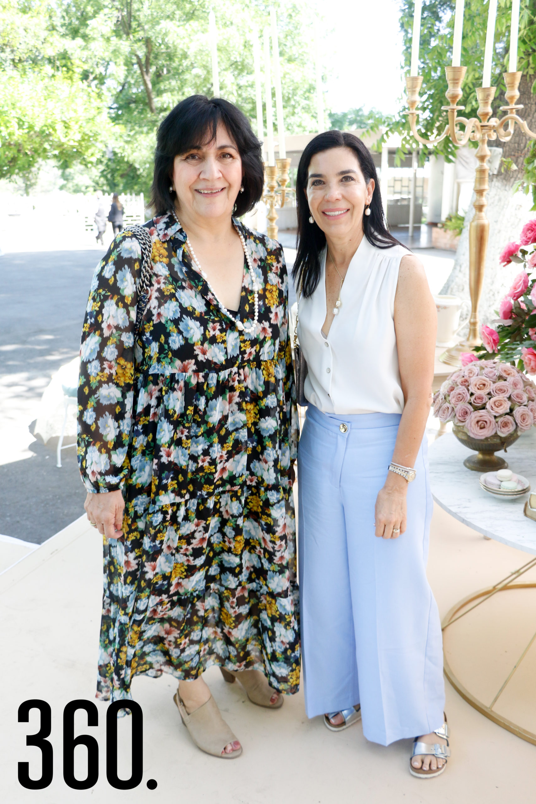 Mayela Quezada de Martínez y Estela Ortiz de Cuéllar.