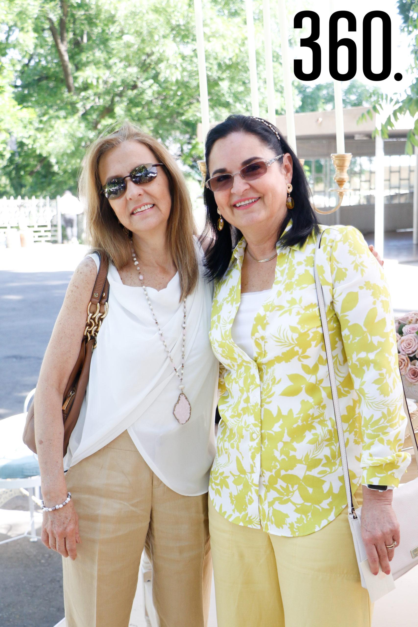 Gabriela Moreno y Alicia Verástegui.