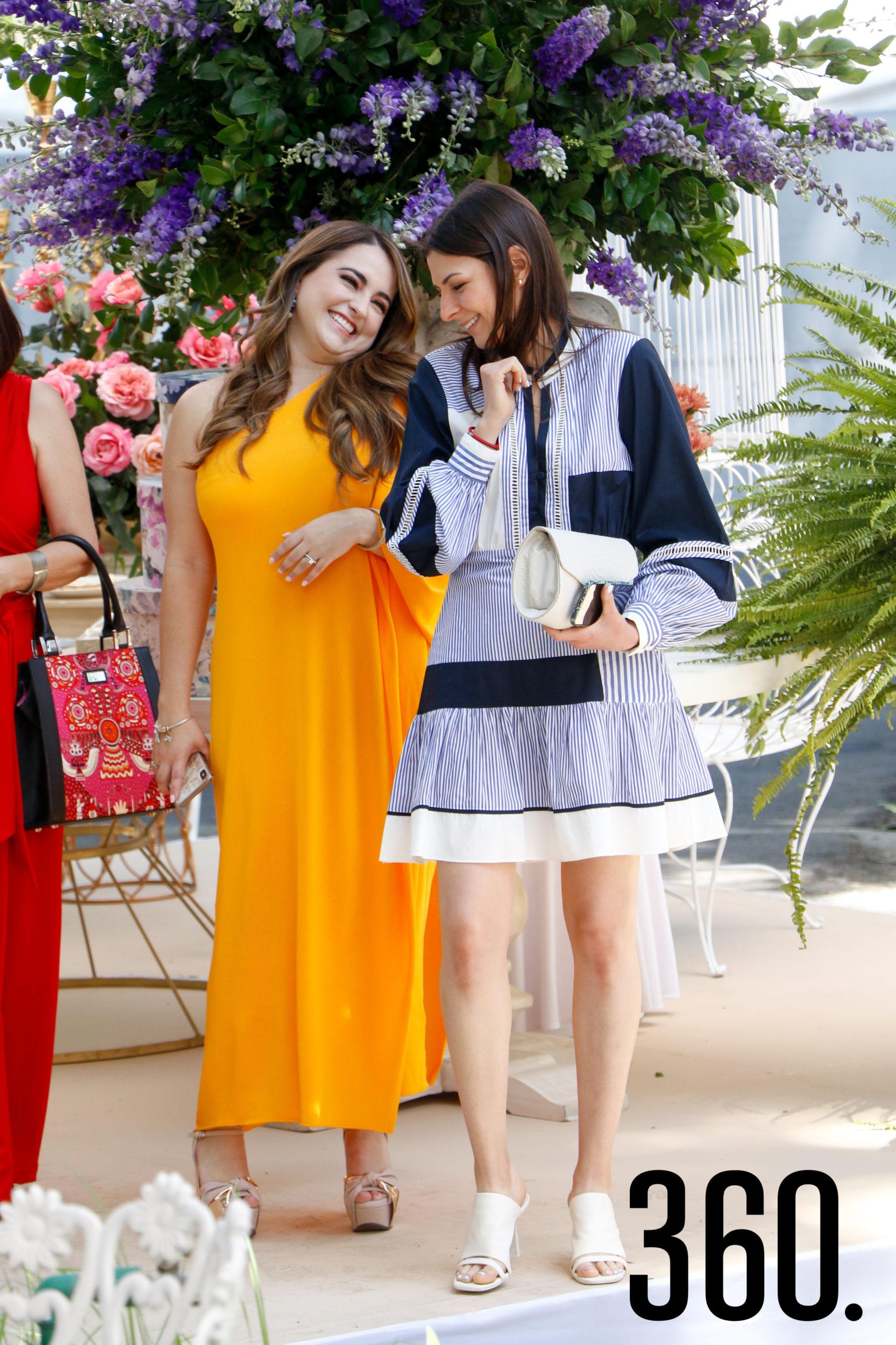 Malena Flores e Ivonne Salinas.