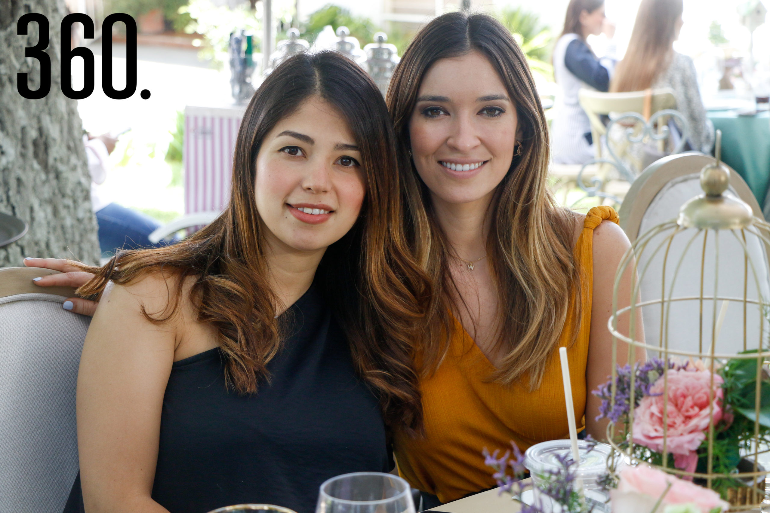 Mariza Gil y Lorena Wah.