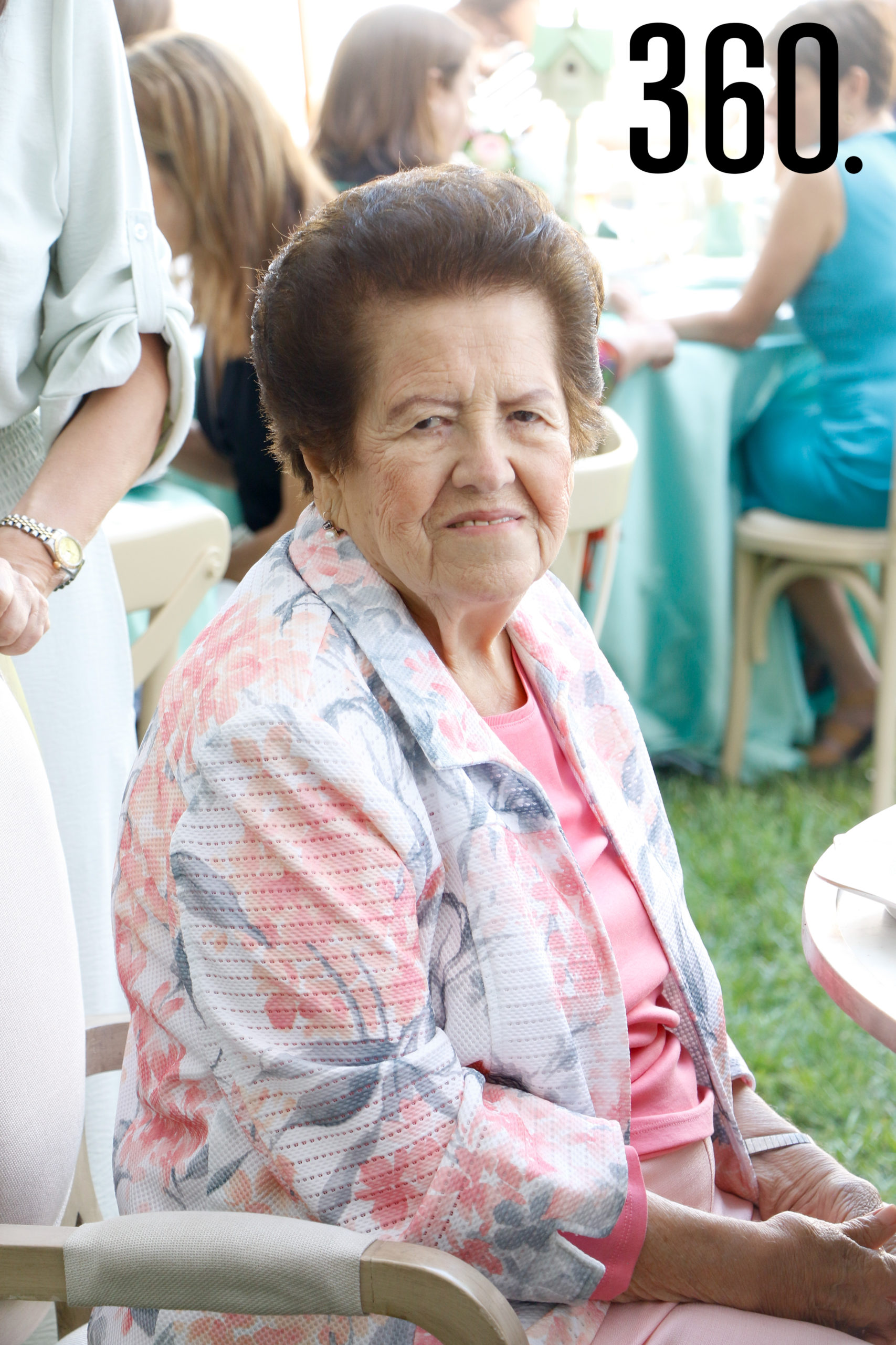 Yolanda Dávila, abuela de Blas Flores.