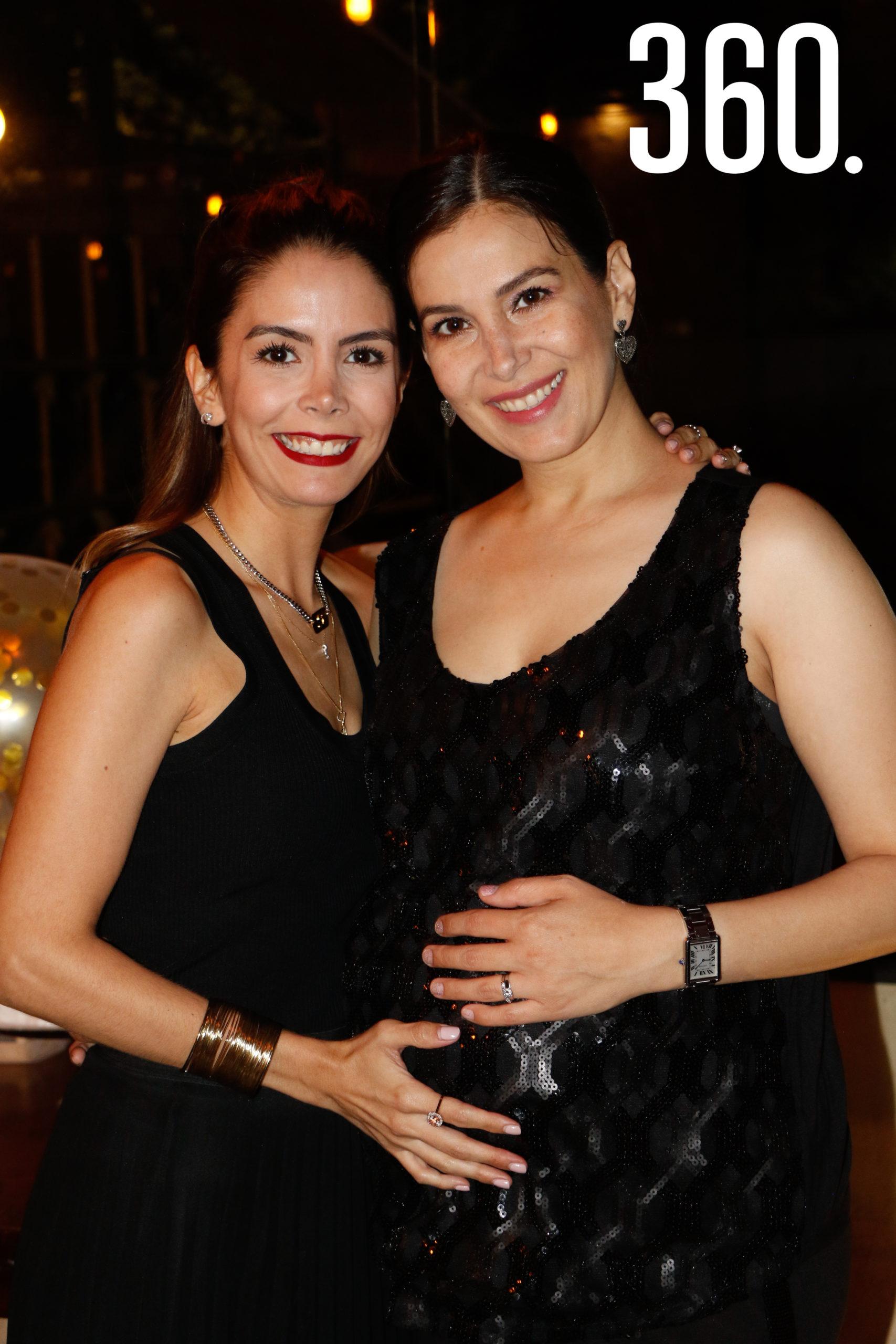 Sara Rodríguez y Mónica Villarreal.