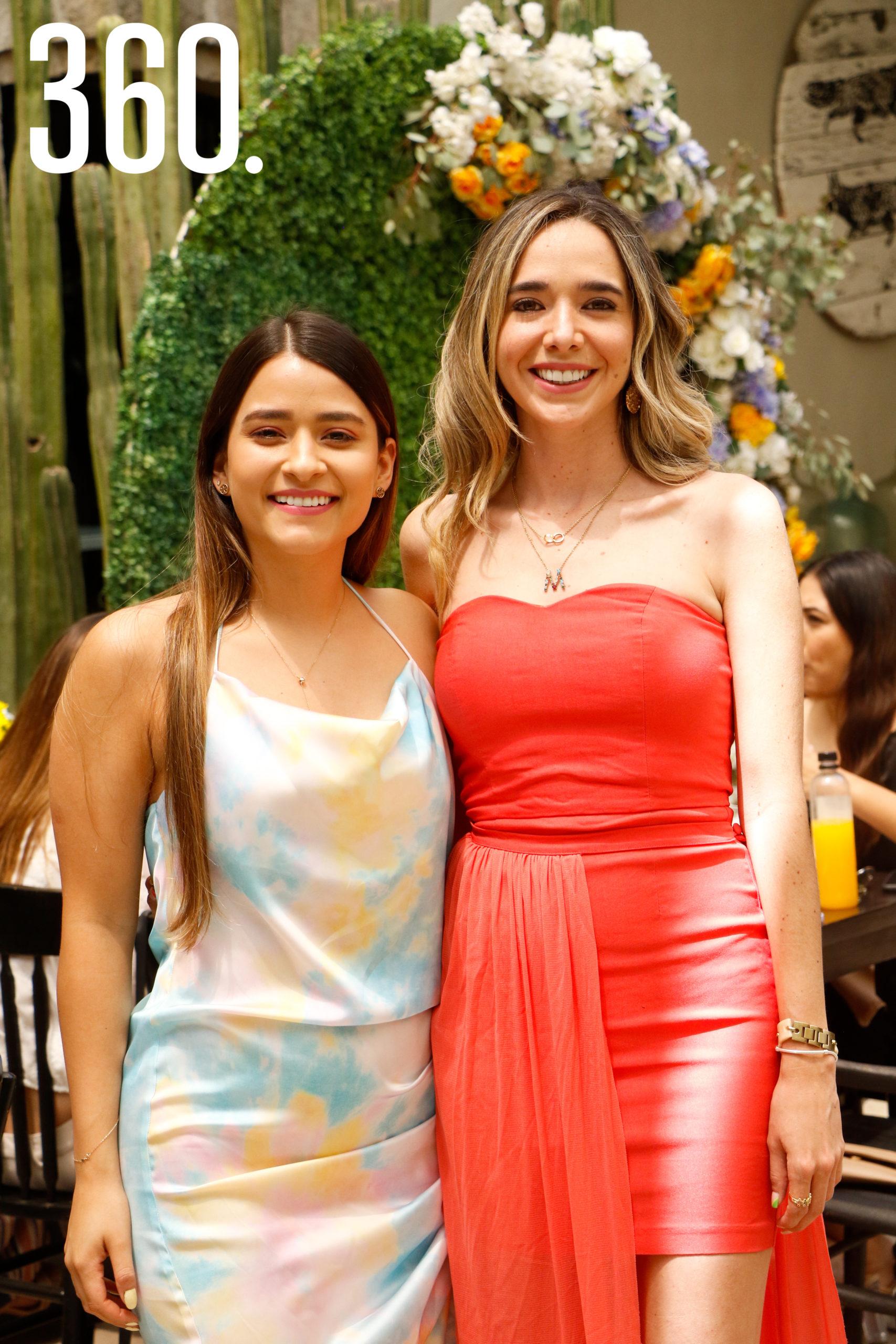 Melissa Saucedo y Cristina Martínez.