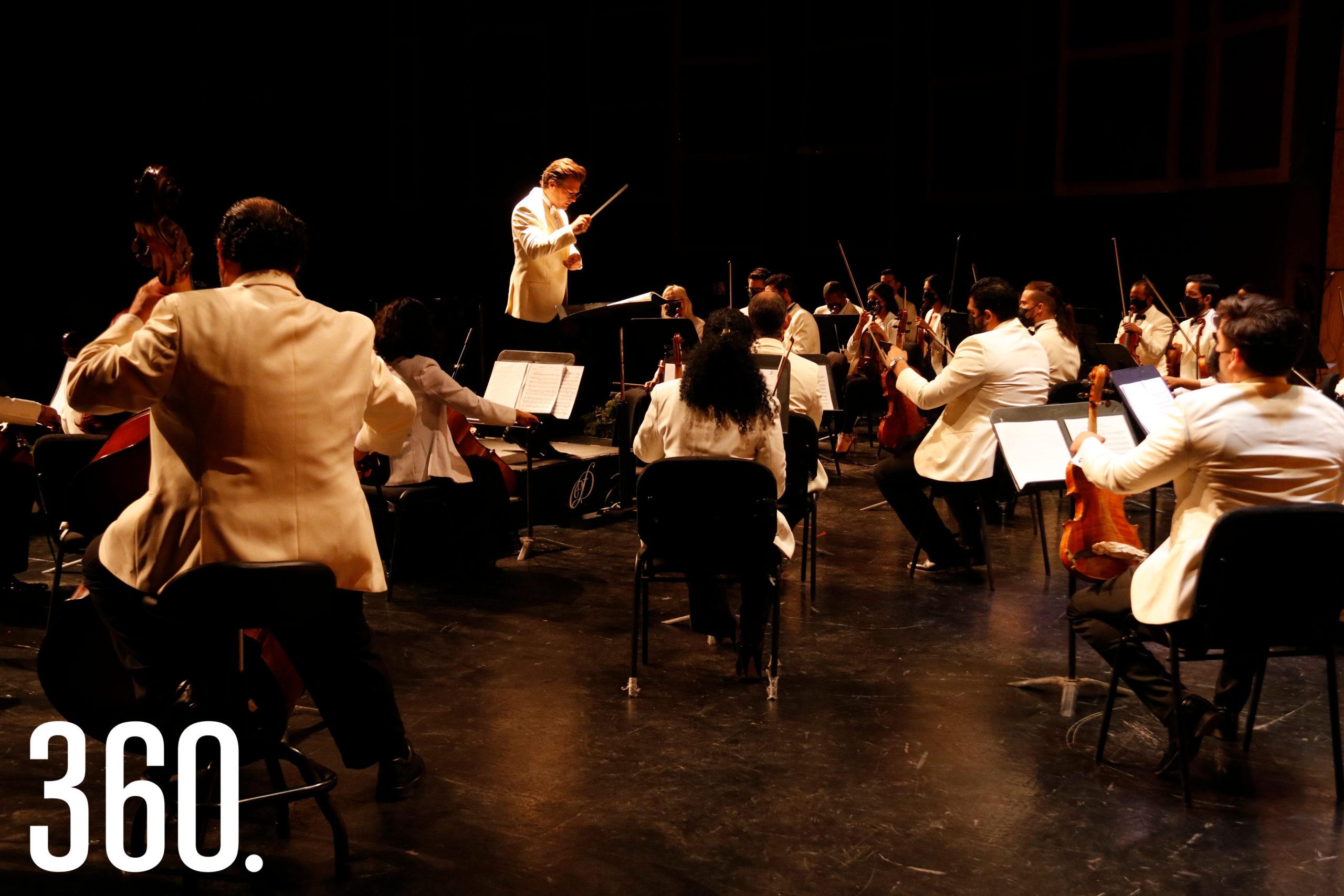 La Orquesta Filarmónica del Desierto, bajo la dirección artística de Natanael Espinoza, presentó su cuarto concierto de la Temporada 2021 Allegro.