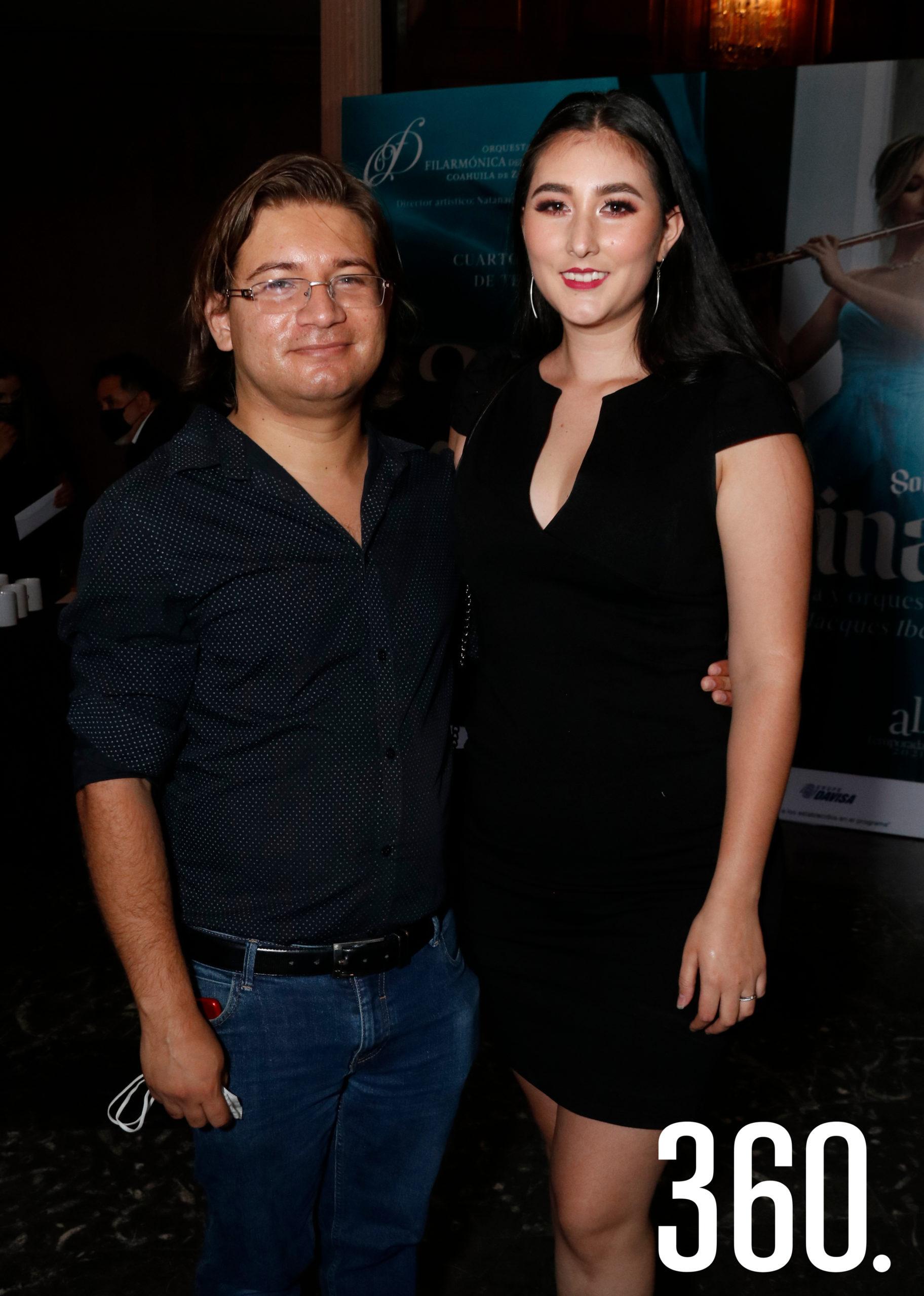Darío Aguillón y Miriam Ortiz.