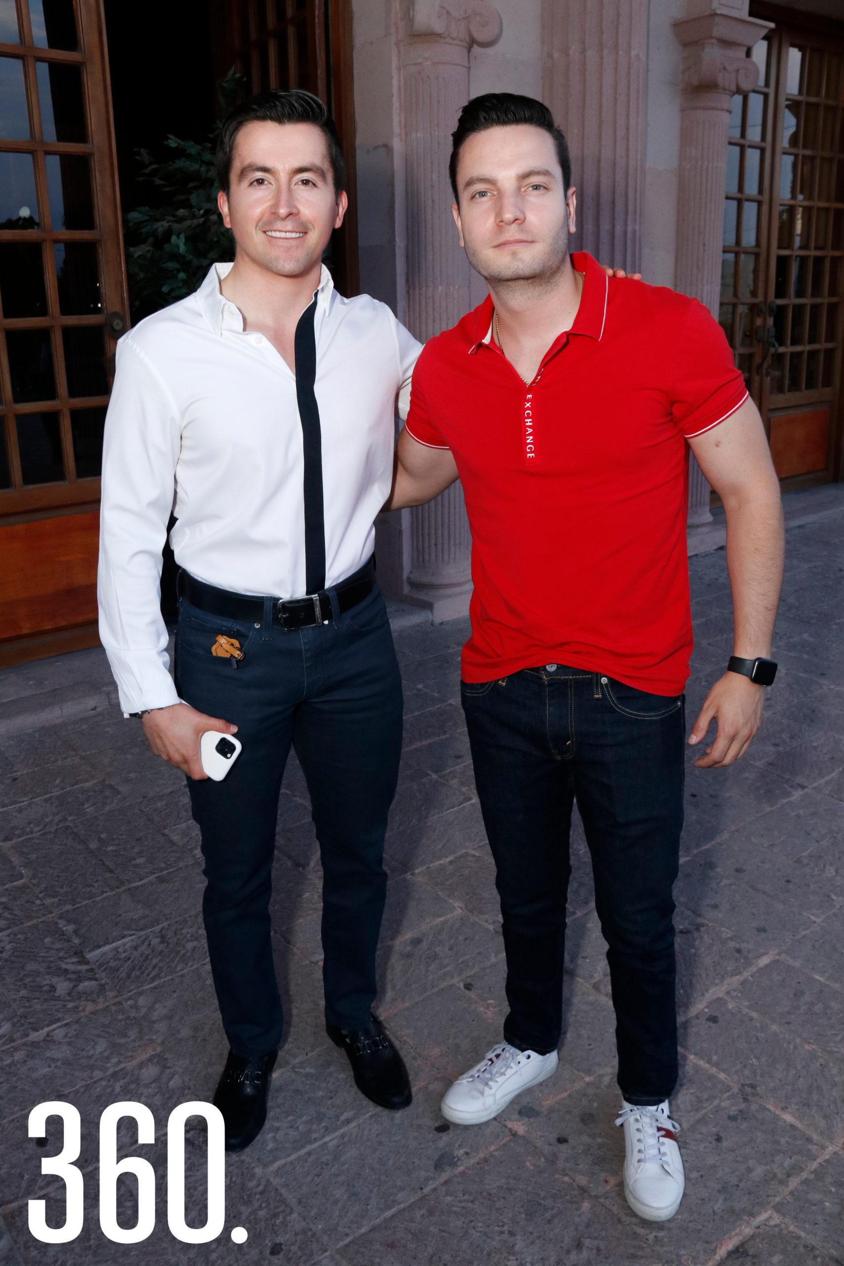 Ricardo Becerra y José Enrique García.