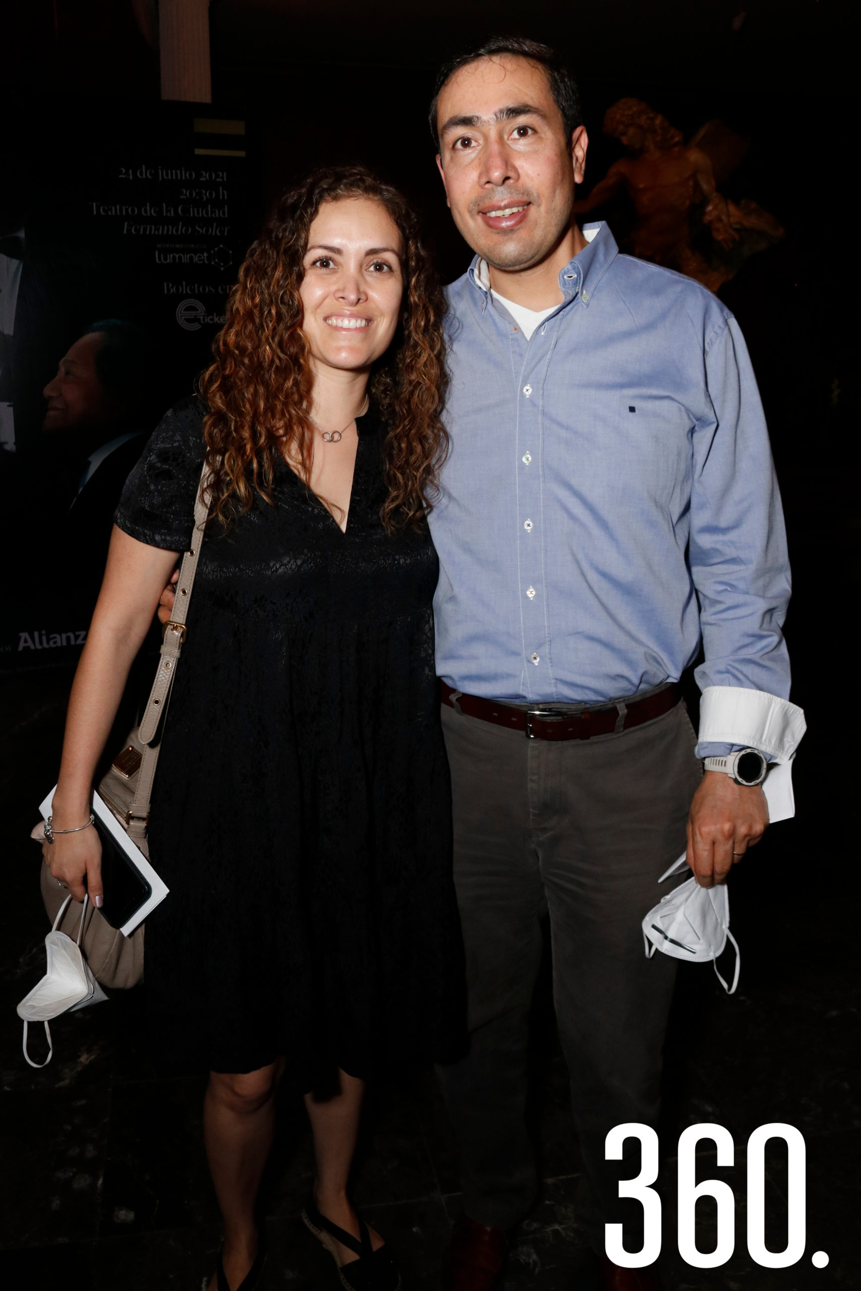 Ingrid Tinoco y Josué Escobedo.