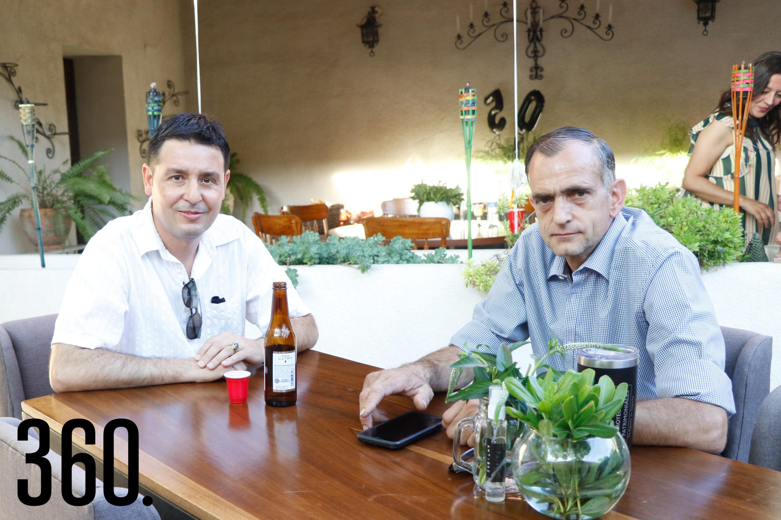 Alfredo Flores y Alfonso Recio.