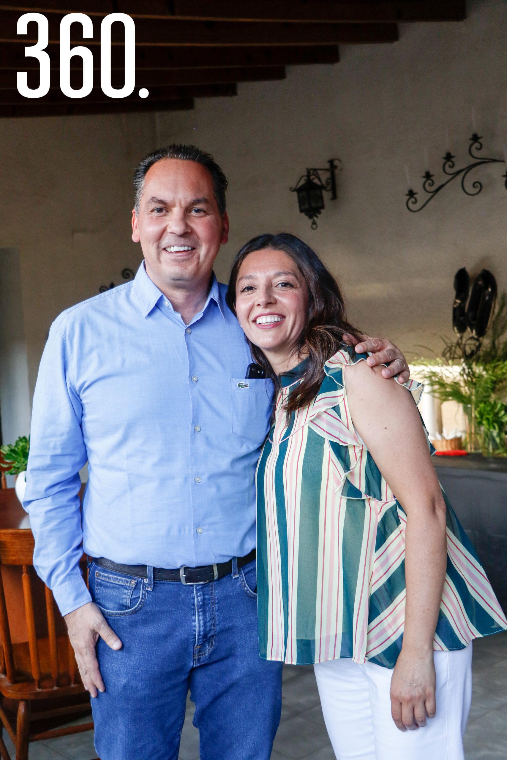 Homero Ortiz y Maryté Montes de Oca.
