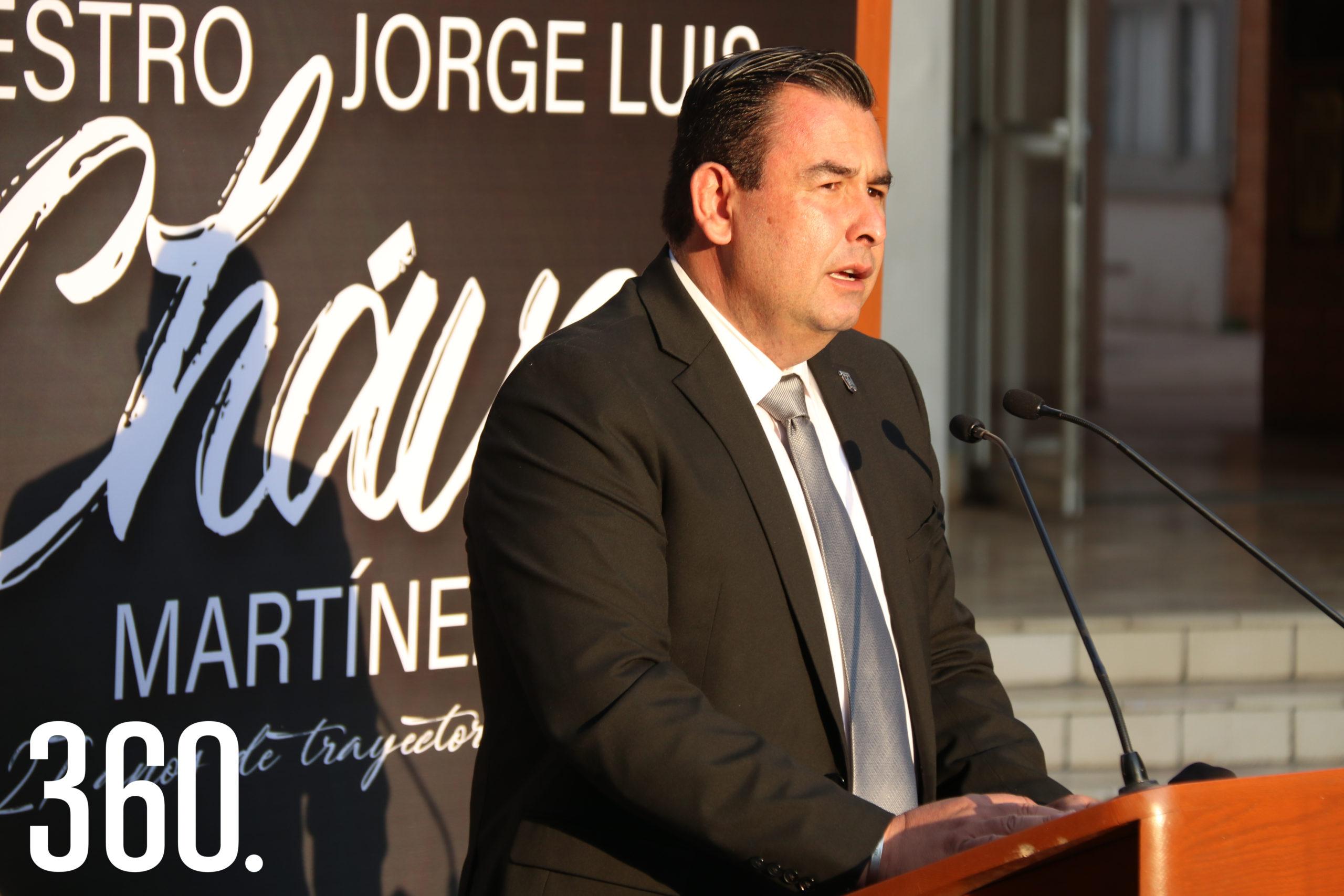 Alfonso Yáñez Arreola, director de la Facultad de Jurisprudencia, destacó la labor formativa del homenajeado.