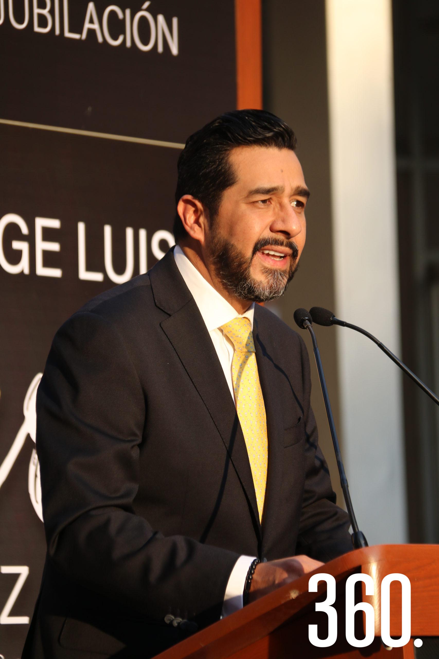 Iván Garza García compartió la semblanza de Jorge Luis Chávez.